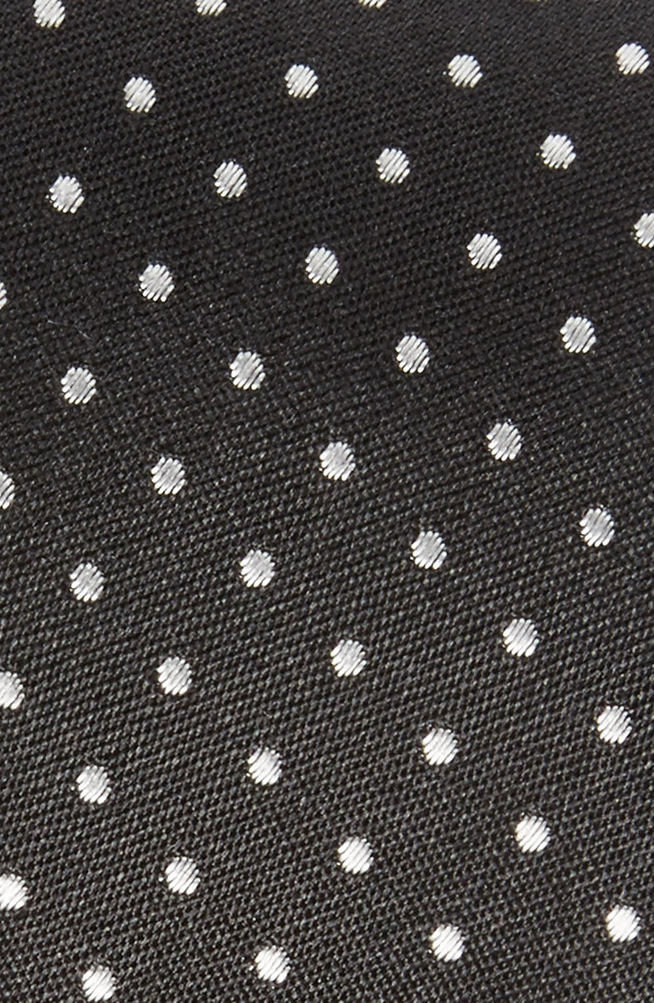 Alternate Image 2  - The Kooples Dot Skinny Silk Tie