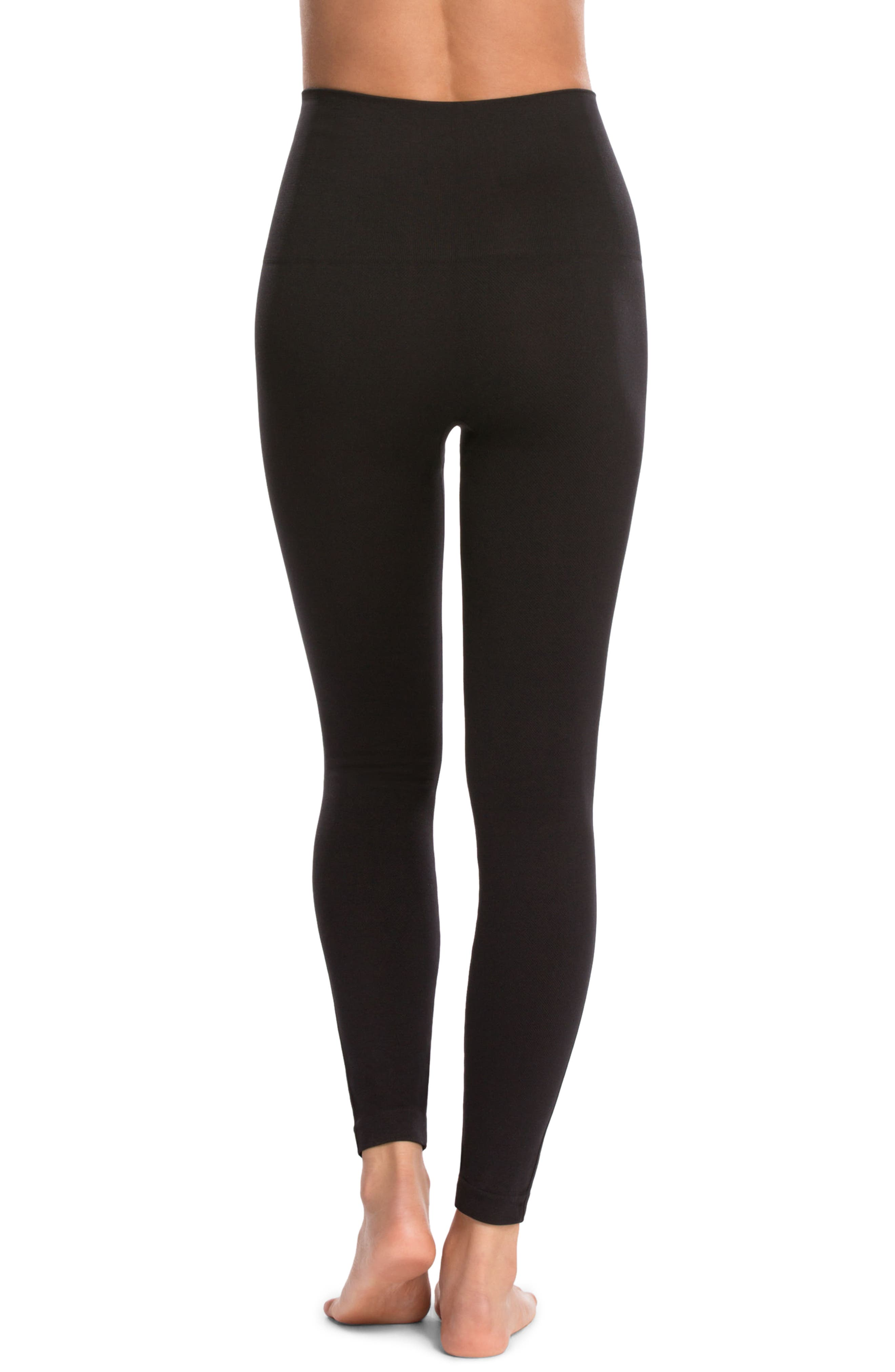 Alternate Image 2  - SPANX® Look at Me Now' Seamless Leggings