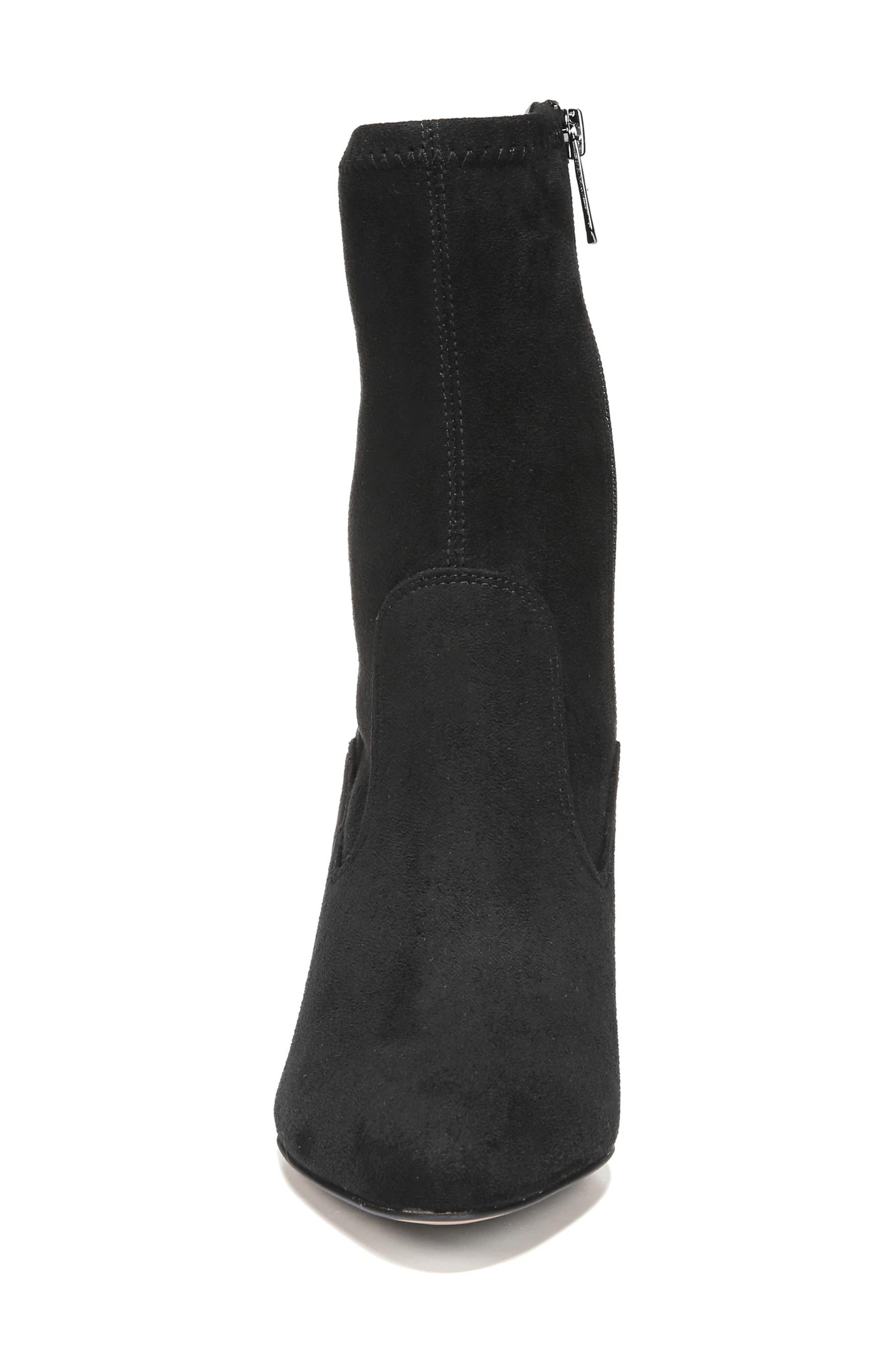 Fancy Boot,                             Alternate thumbnail 5, color,                             Black Suede