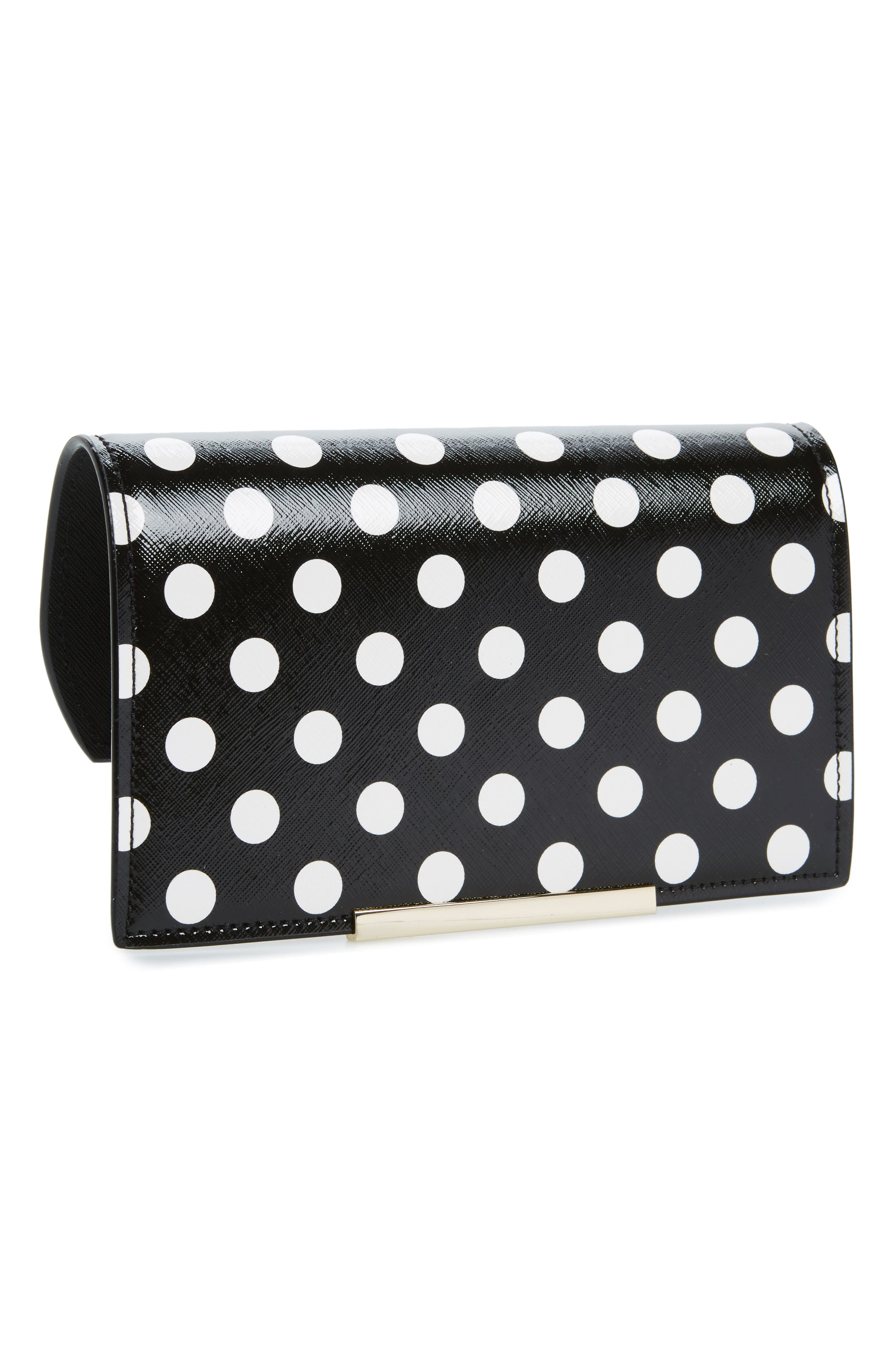 Alternate Image 1 Selected - kate spade new york make it mine polka dot snap-on accent flap