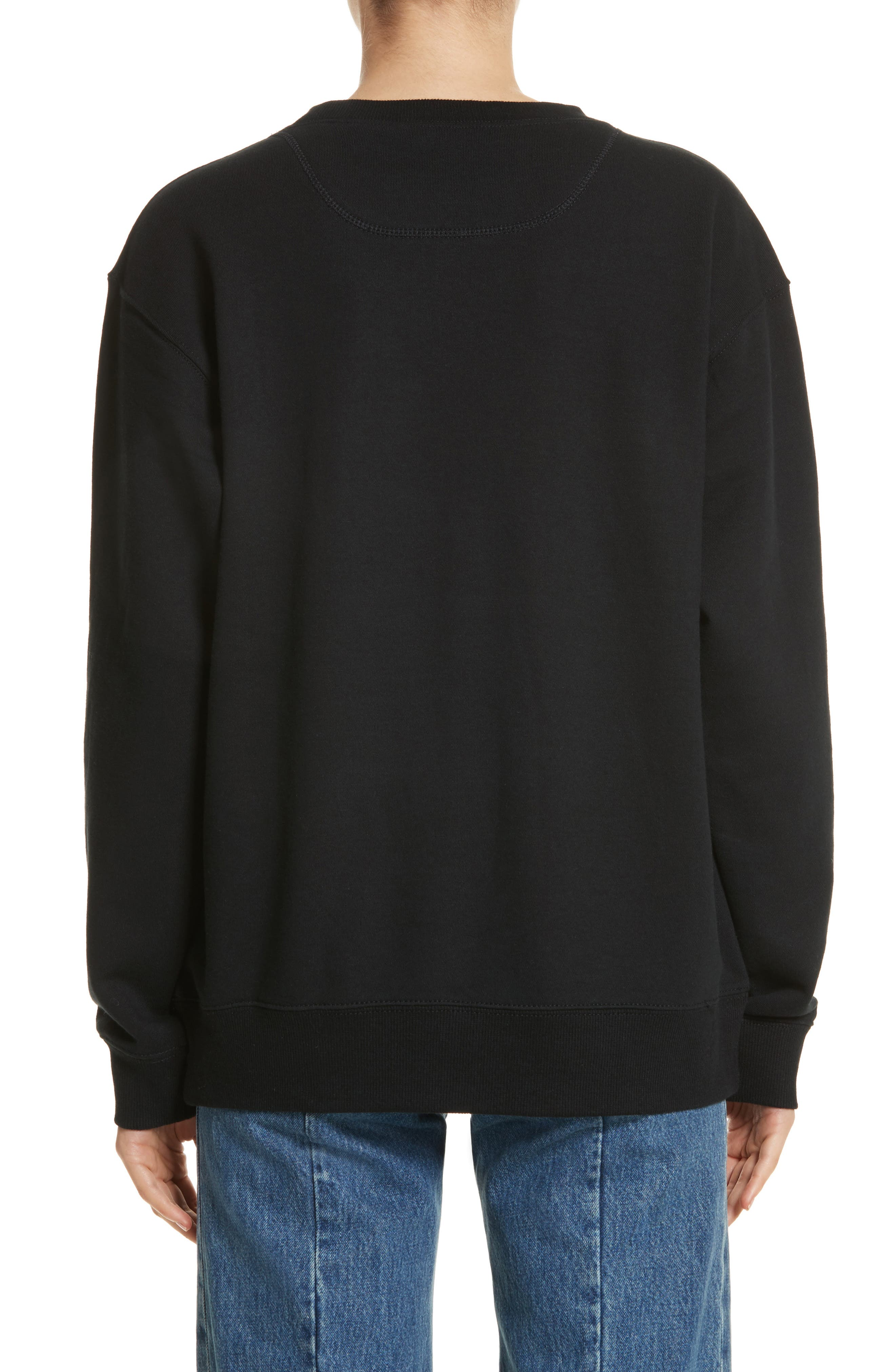 Alternate Image 2  - MARC JACOBS Embroidered Logo Sweatshirt
