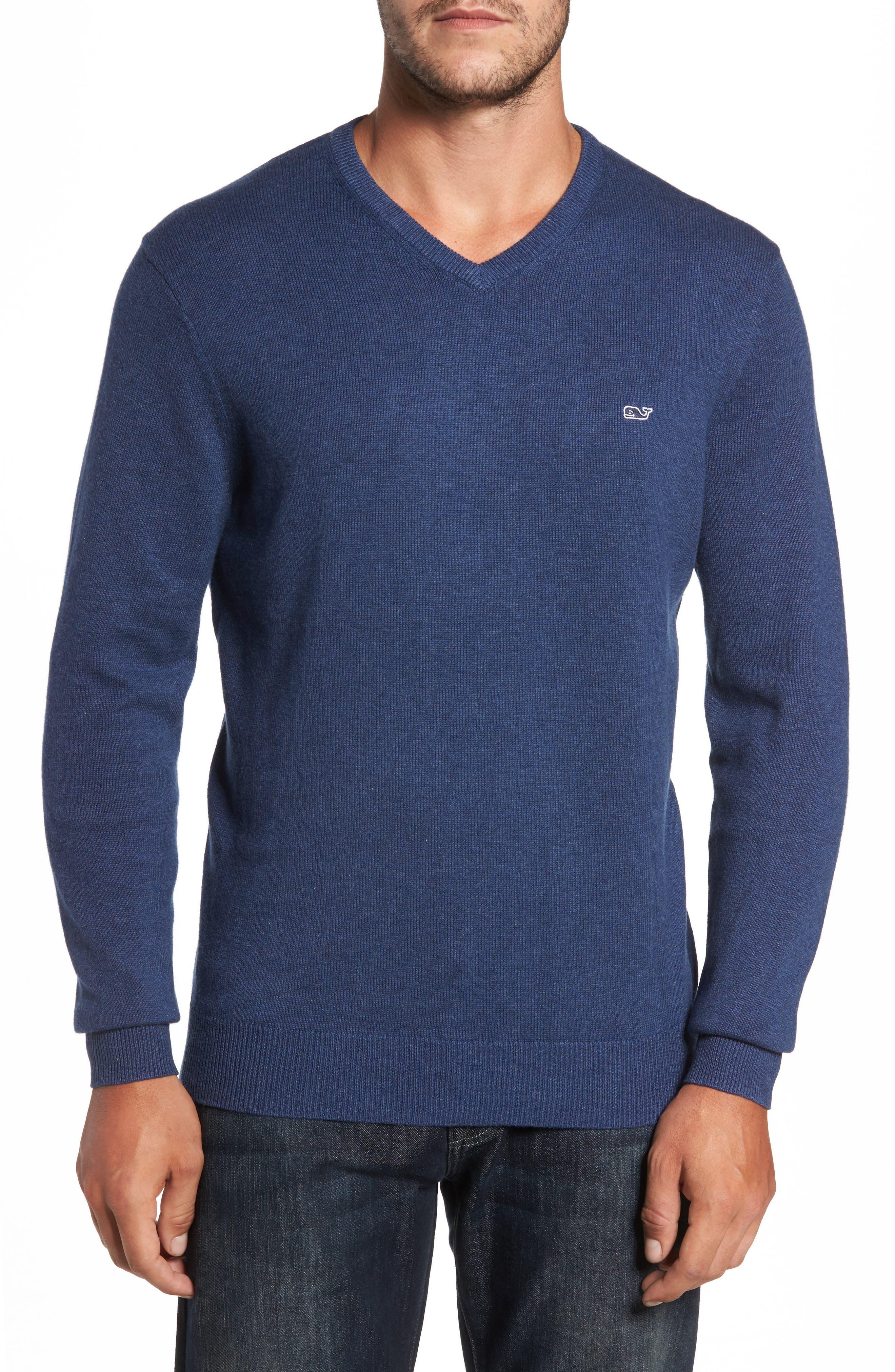 Vineyard Vines Lightweight Heathered Sweater