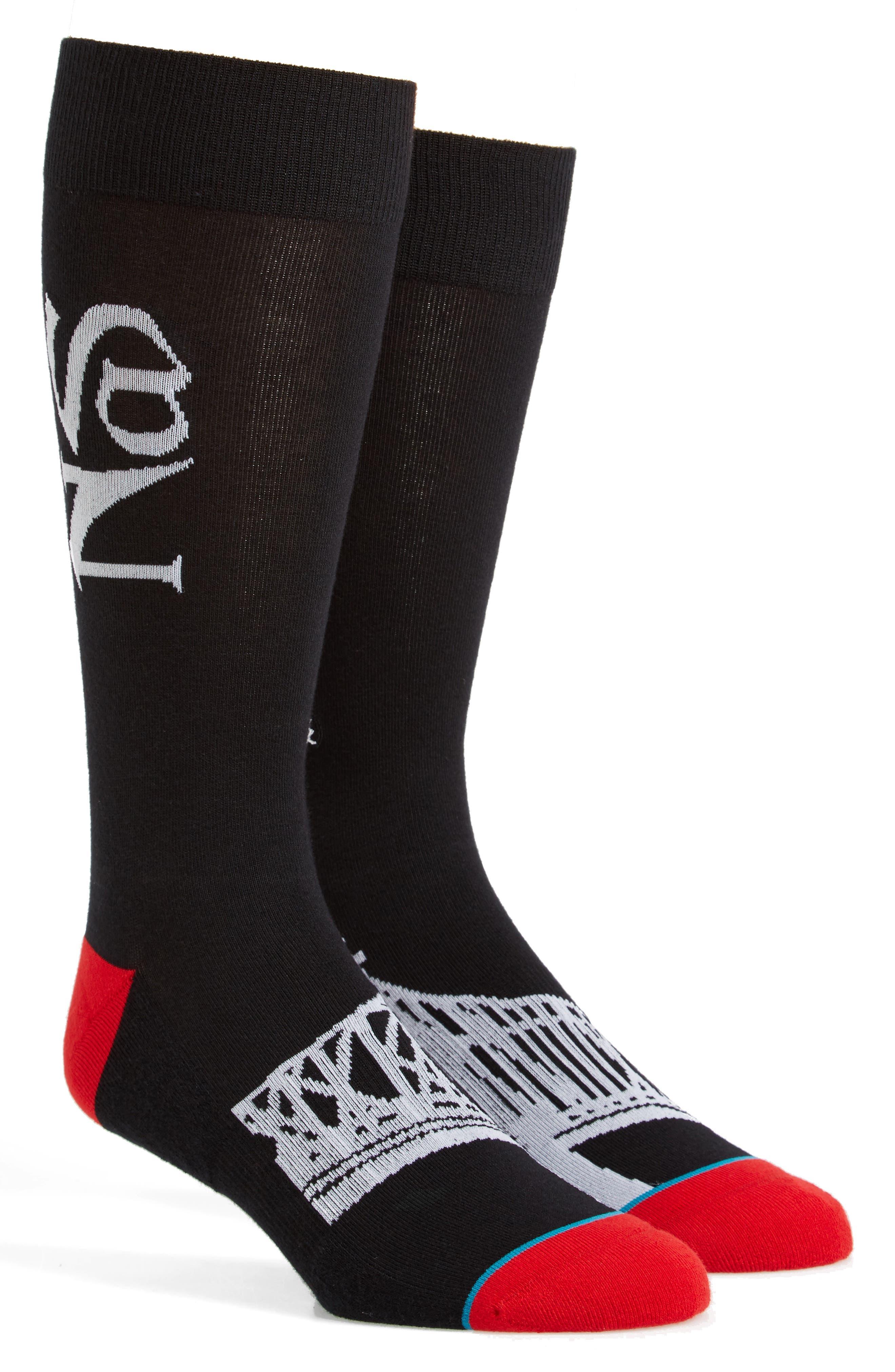 Illmatic Crew Socks,                         Main,                         color, Black