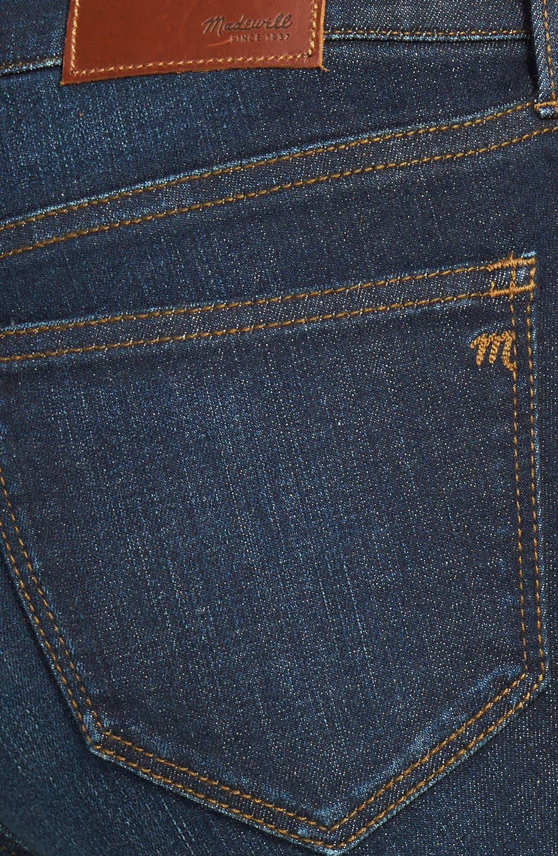 Alternate Image 3  - Madewell 'Alley' Straight Leg Jeans (Waterfall)