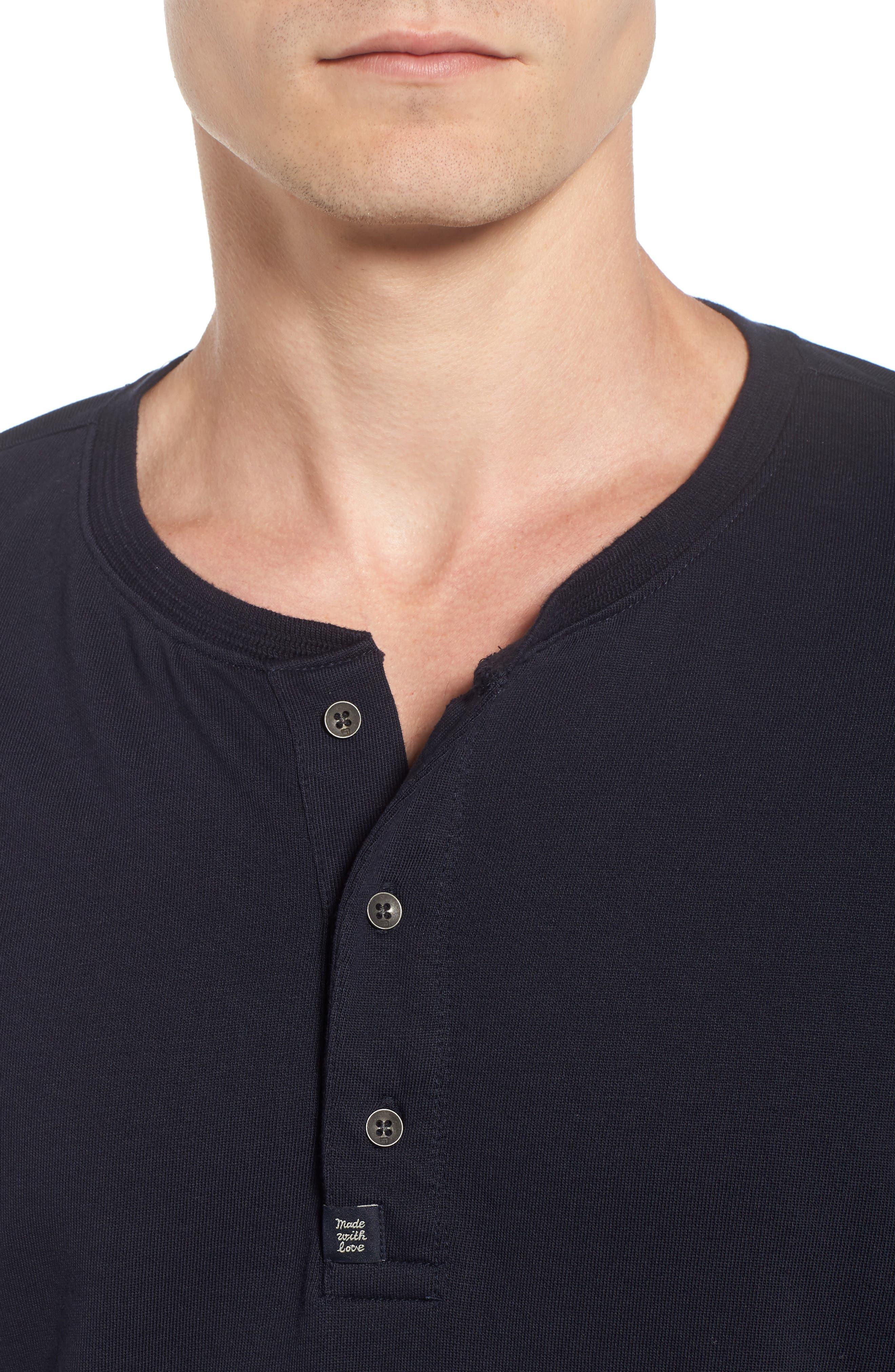 Alternate Image 4  - Scotch & Soda Grandad Henley T-Shirt