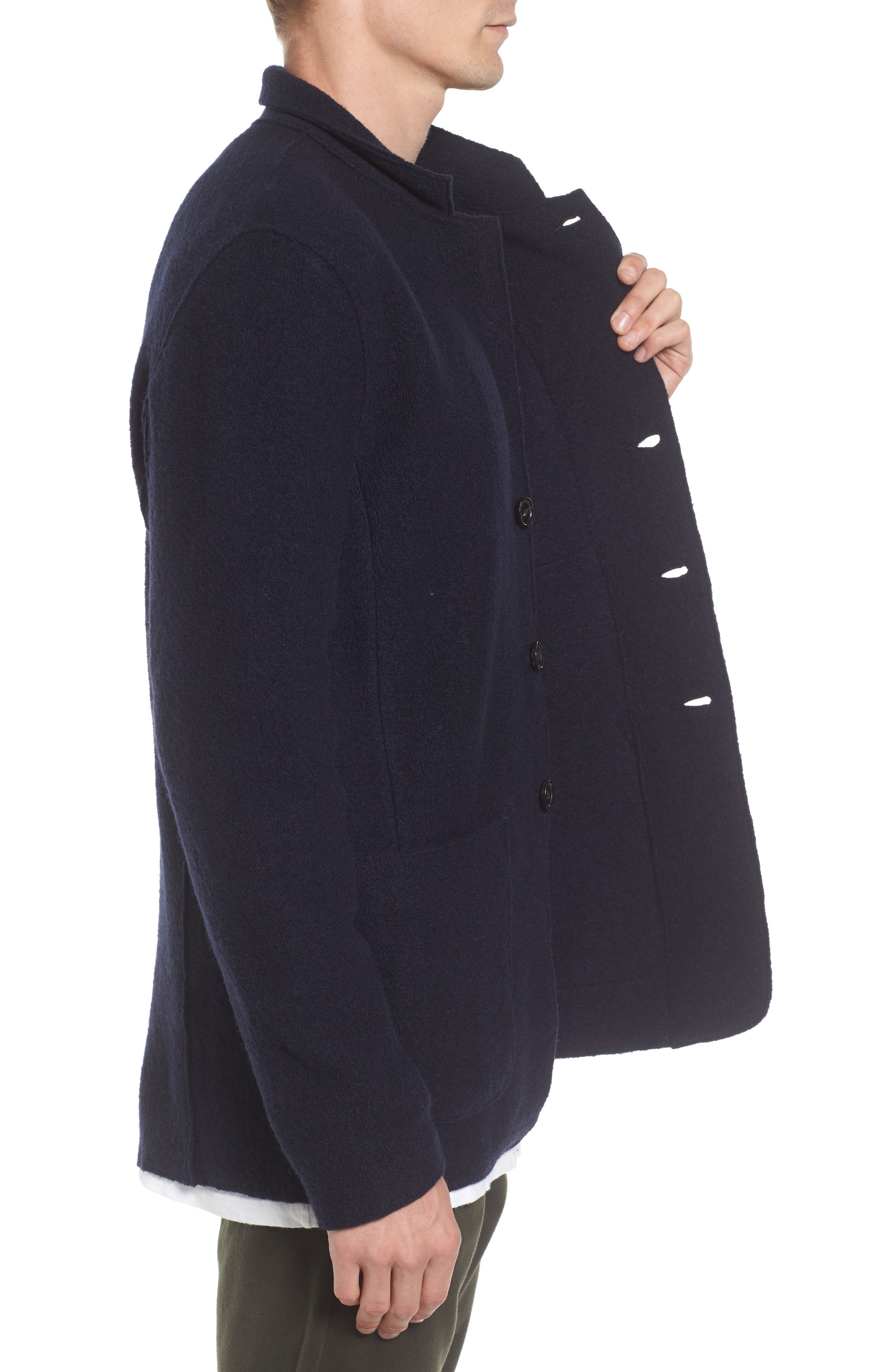 Alternate Image 3  - Baldwin Regular Fit Merino Wool Blazer