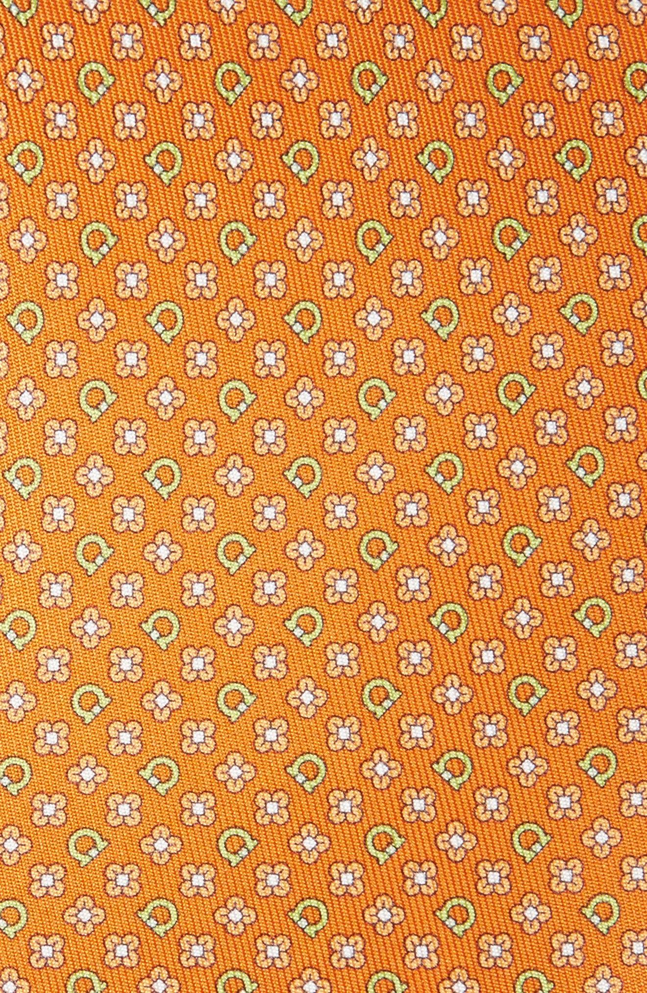 Alternate Image 2  - Salvatore Ferragamo Salvia Floral Print Silk Tie