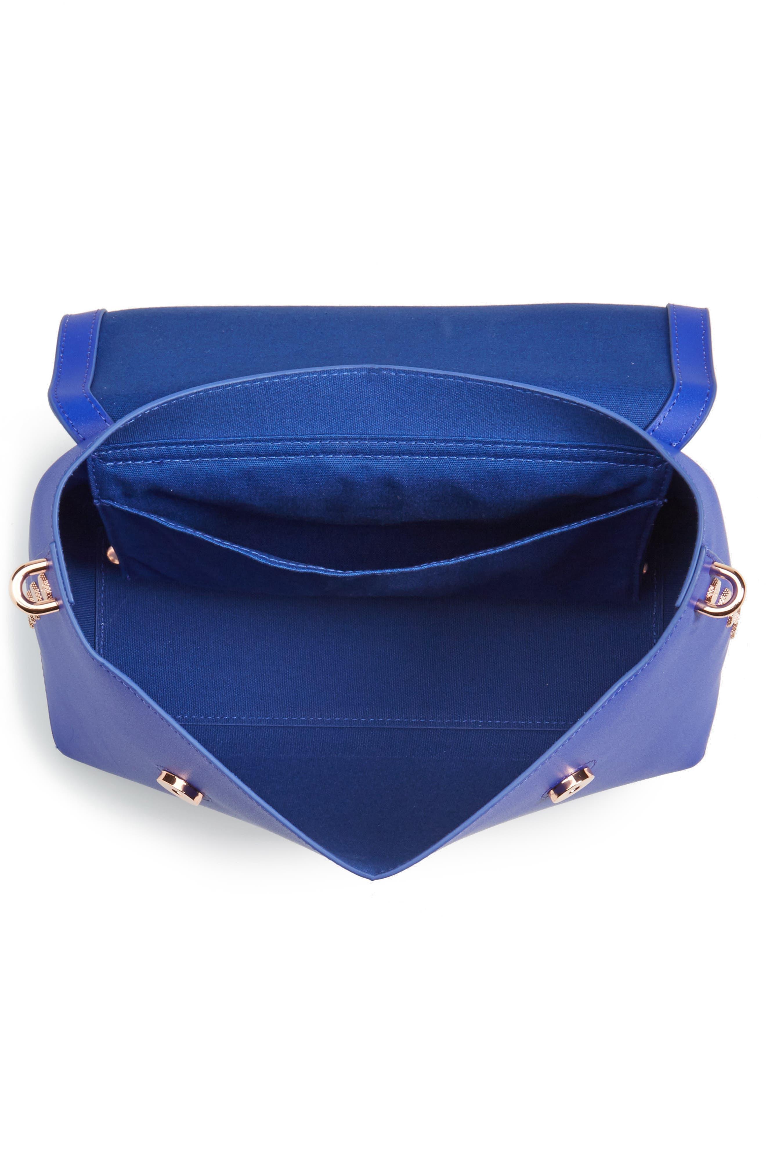 Alternate Image 3  - Ted Baker London Taymar - Studded Edge Lady Bag Leather Top Handle Satchel