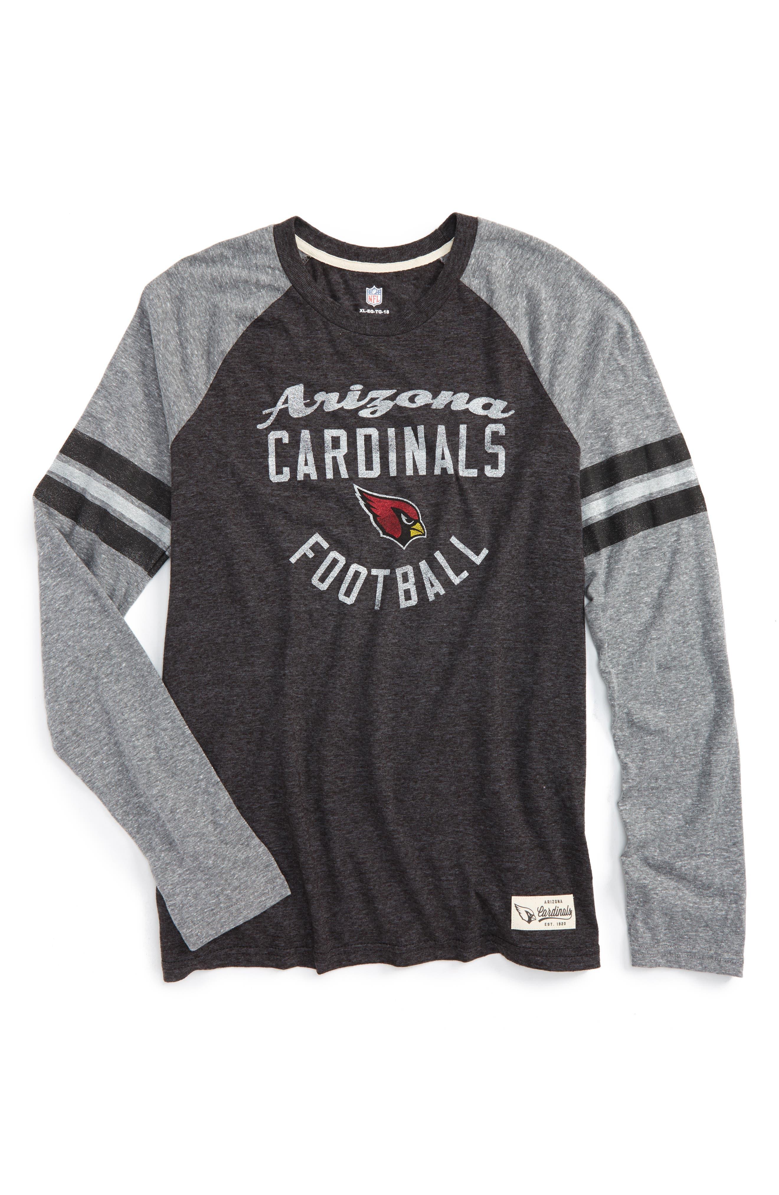 Outerstuff NFL Arizona Cardinals Distressed Logo T-Shirt (Big Boys)