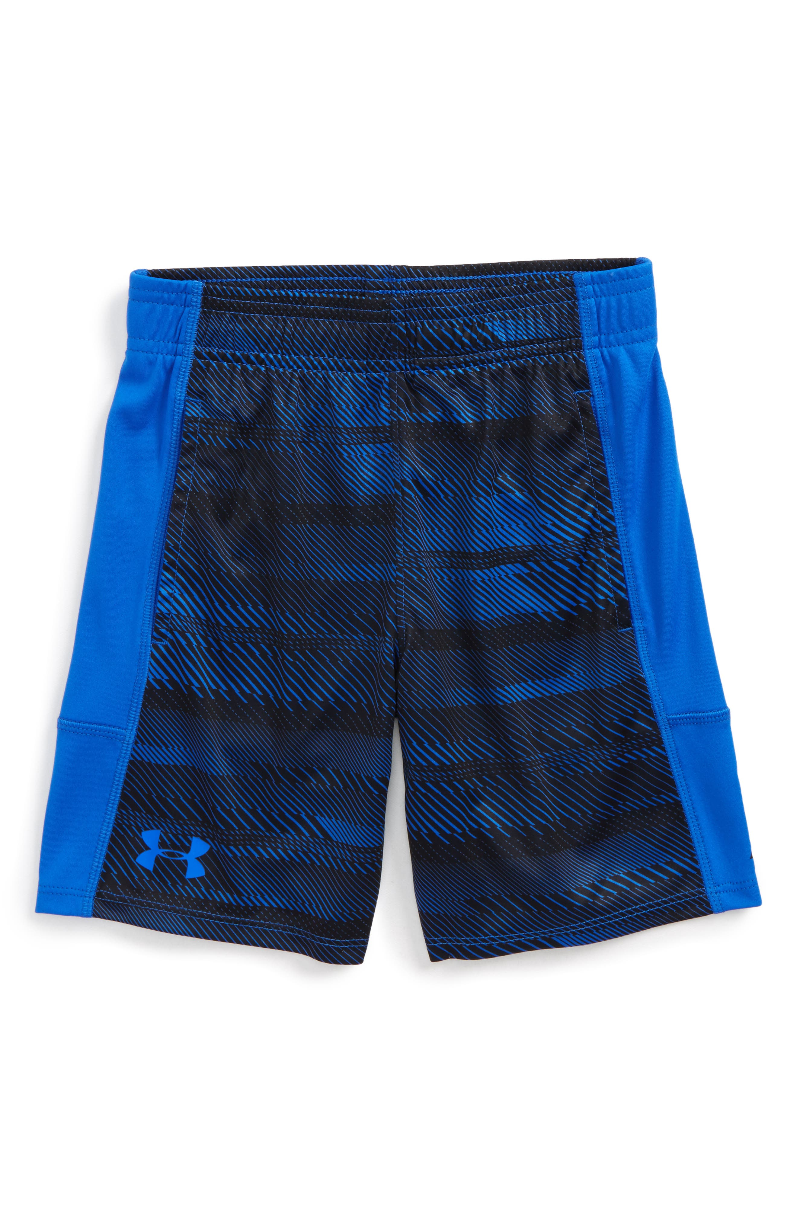 Stunt Speed Lines HeatGear<sup>®</sup> Shorts,                         Main,                         color, Ultra Blue