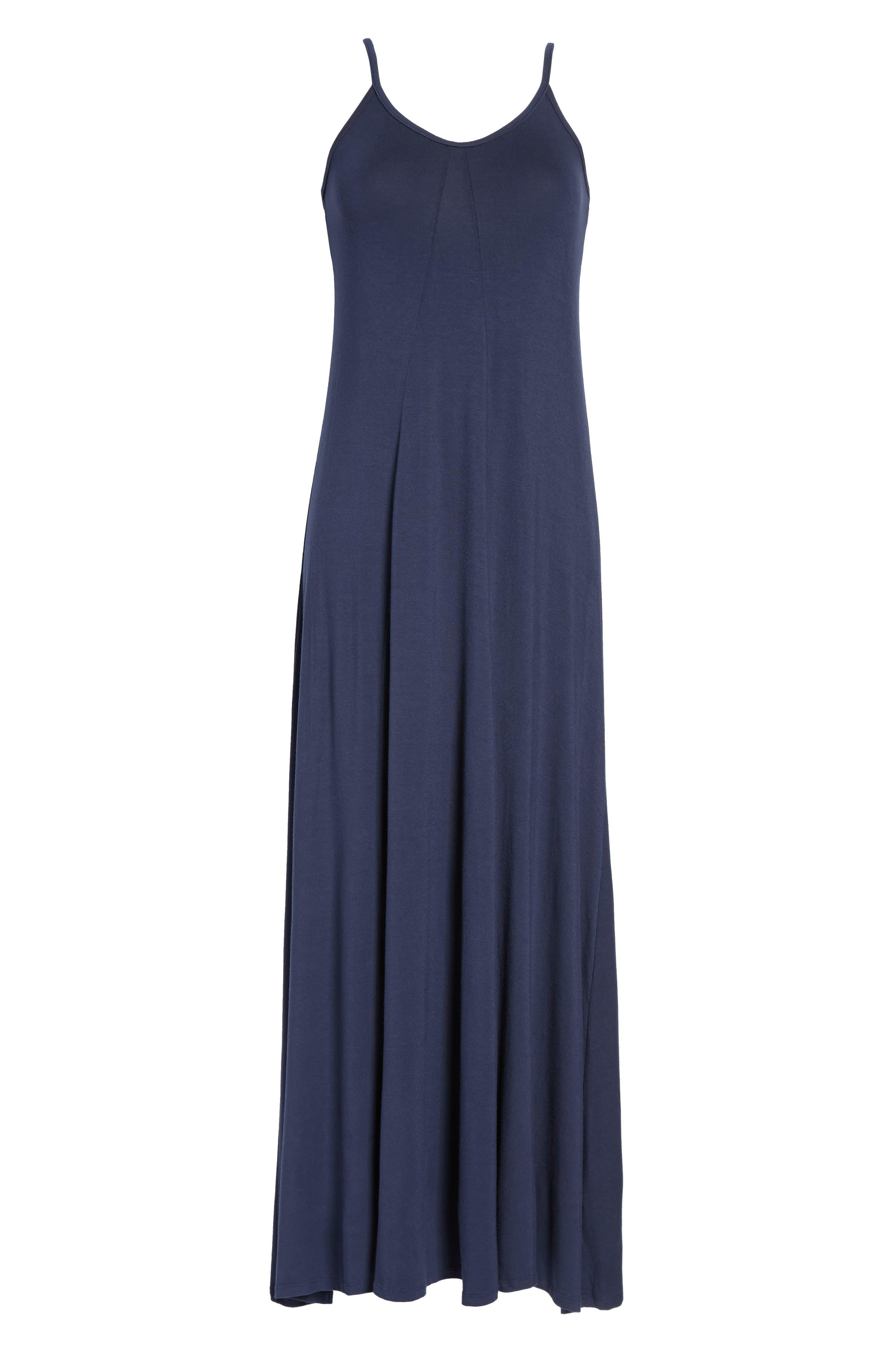 Alternate Image 4  - Loveappella Maxi Dress (Regular & Petite)