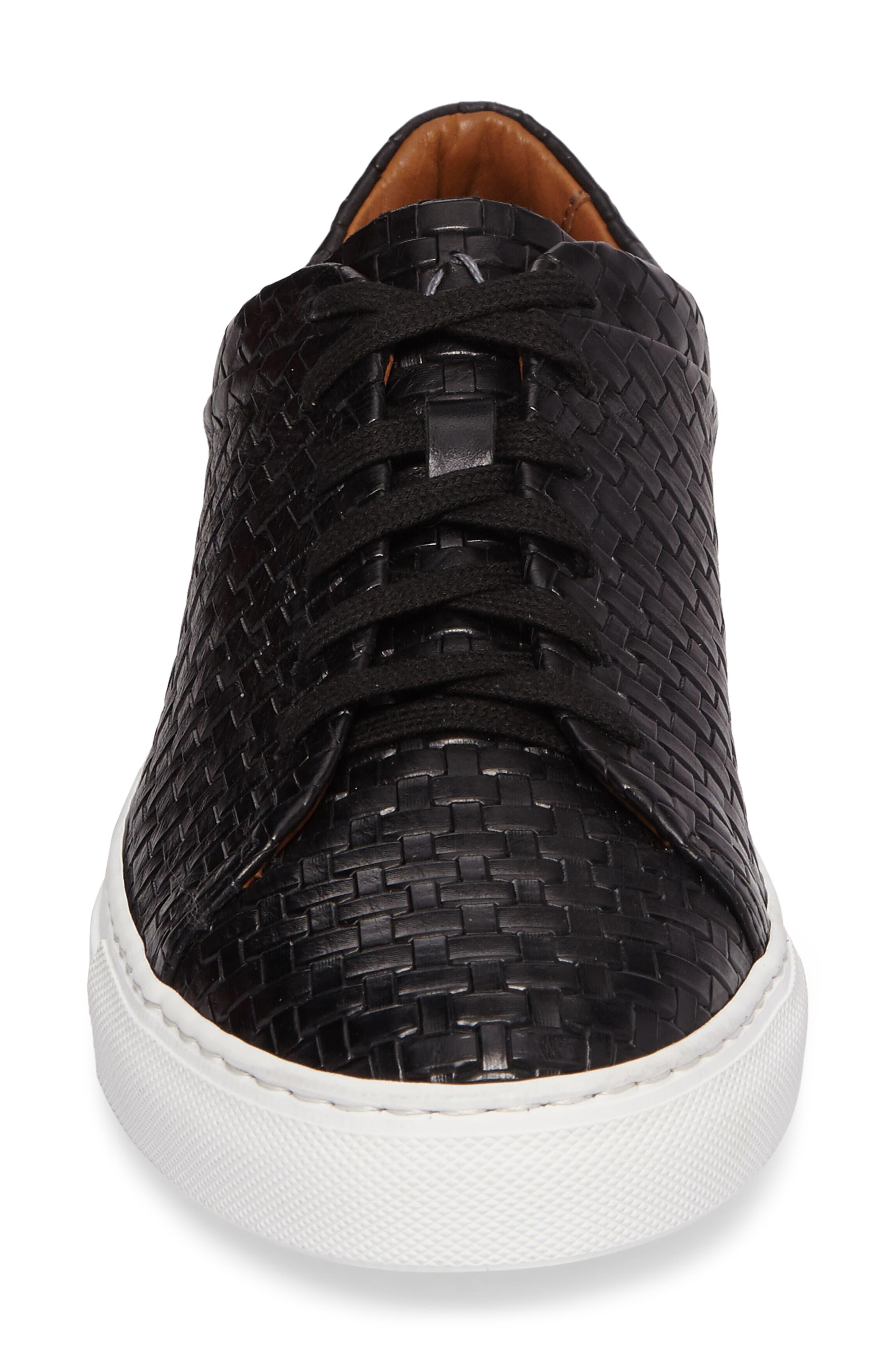 Avery Weatherproof Sneaker,                             Alternate thumbnail 4, color,                             Black