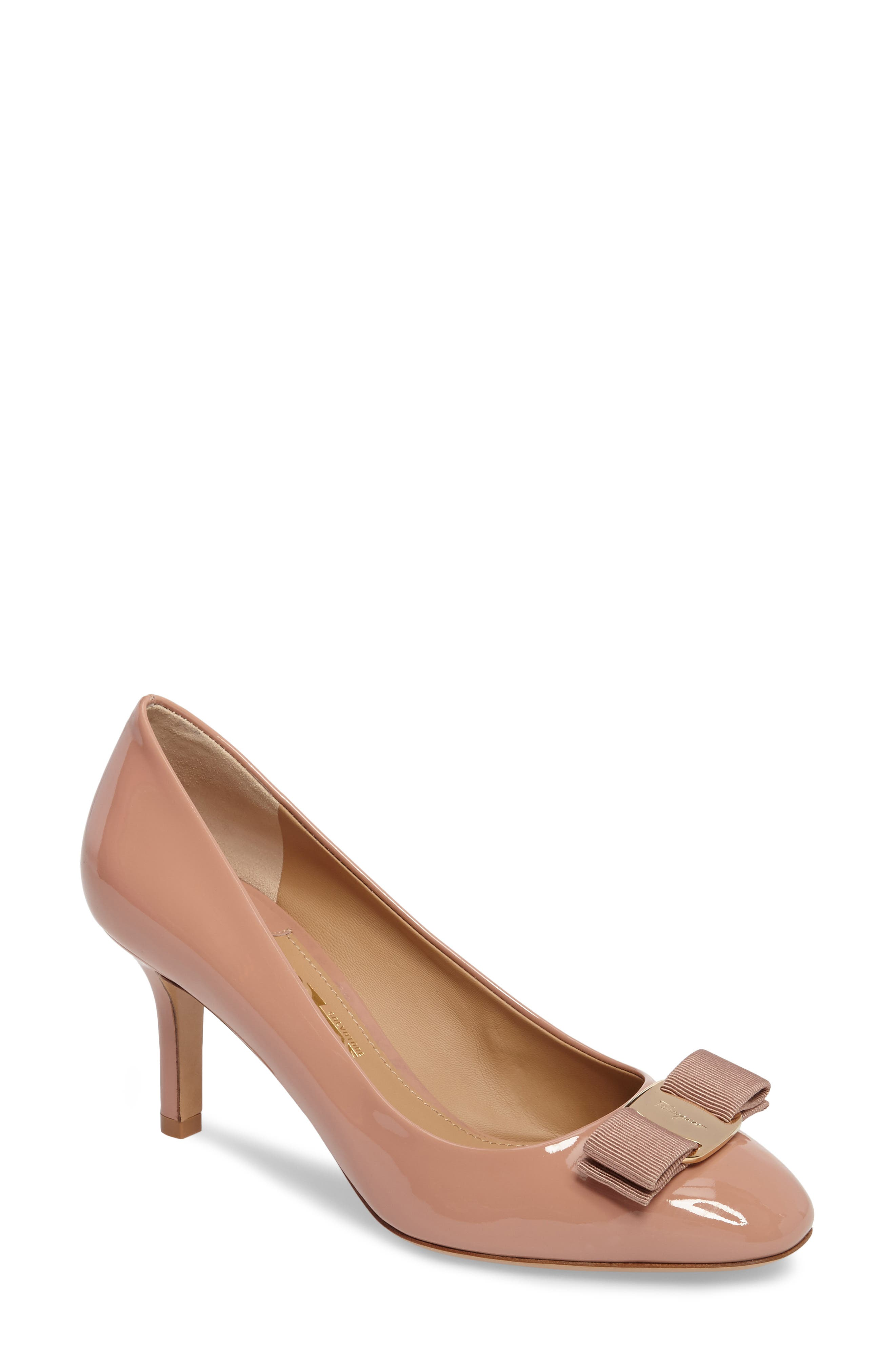 Salvatore Ferragamo Erice Bow Pump (Women)