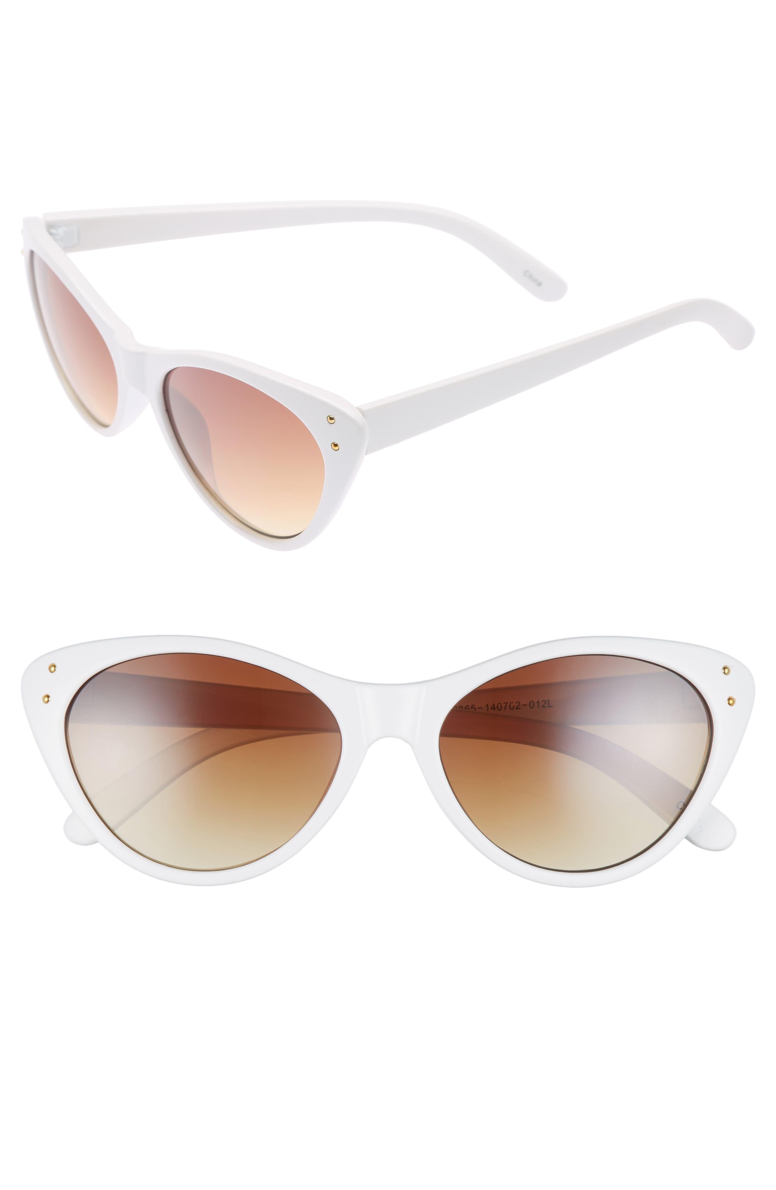 BP. 55mm Studded Cat Eye Sunglasses