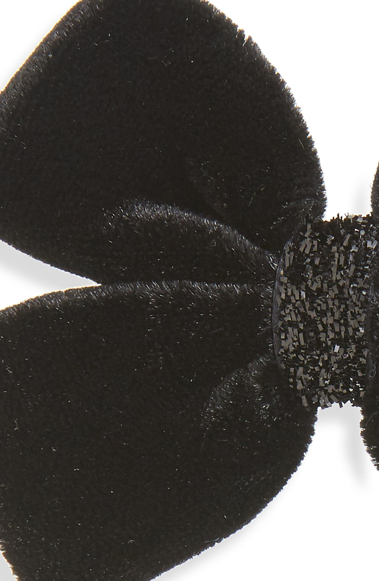 Alternate Image 2  - PLH Bows & Laces 2-Pack Velvet Bow Clips (Baby Girls)