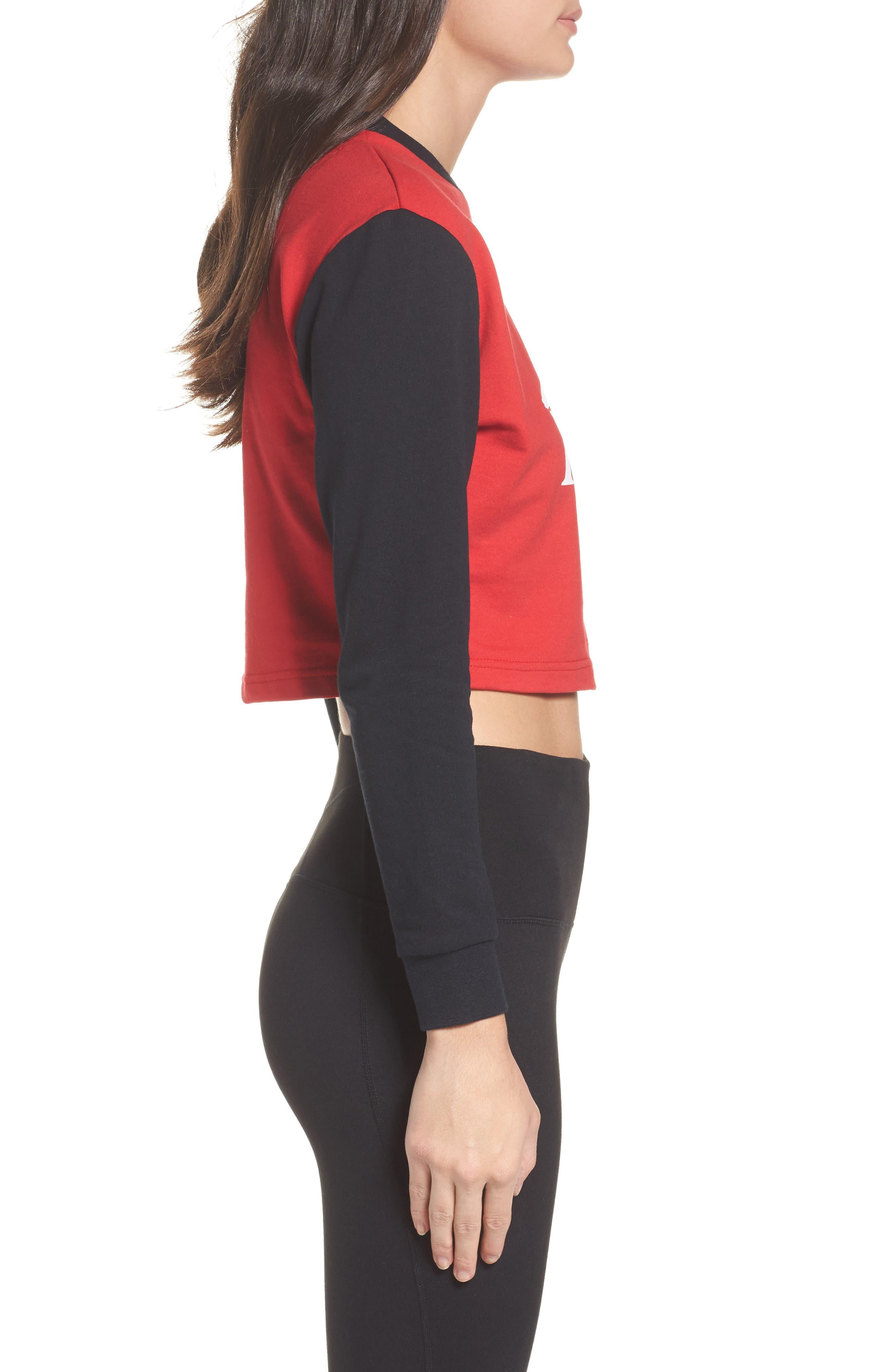 Alternate Image 3  - Kappa Authentic Crop Sweatshirt