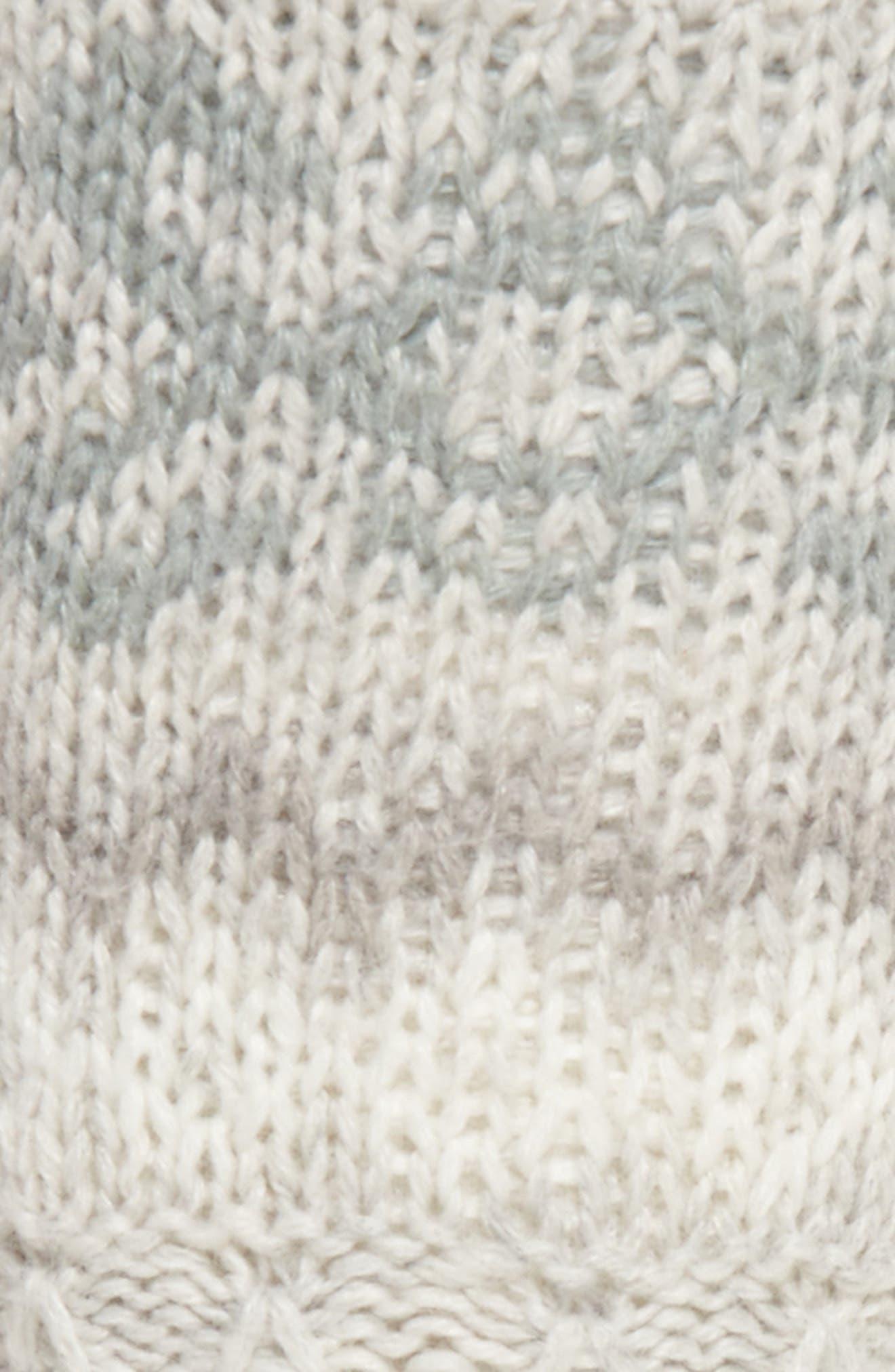Fair Isle Slipper Socks,                             Alternate thumbnail 2, color,                             Oxford