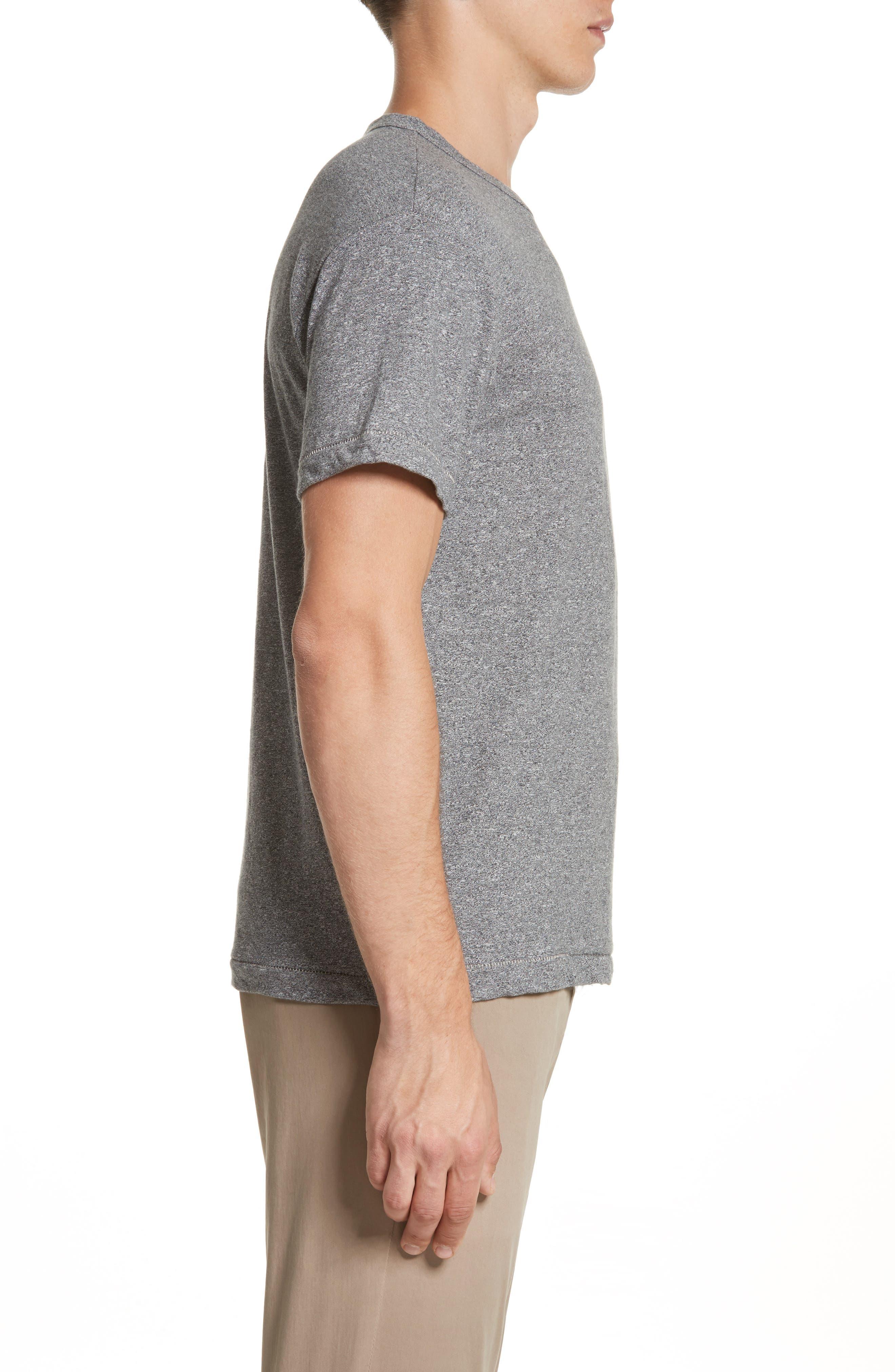 Alternate Image 3  - Todd Snyder + Champion Heathered Crewneck T-Shirt