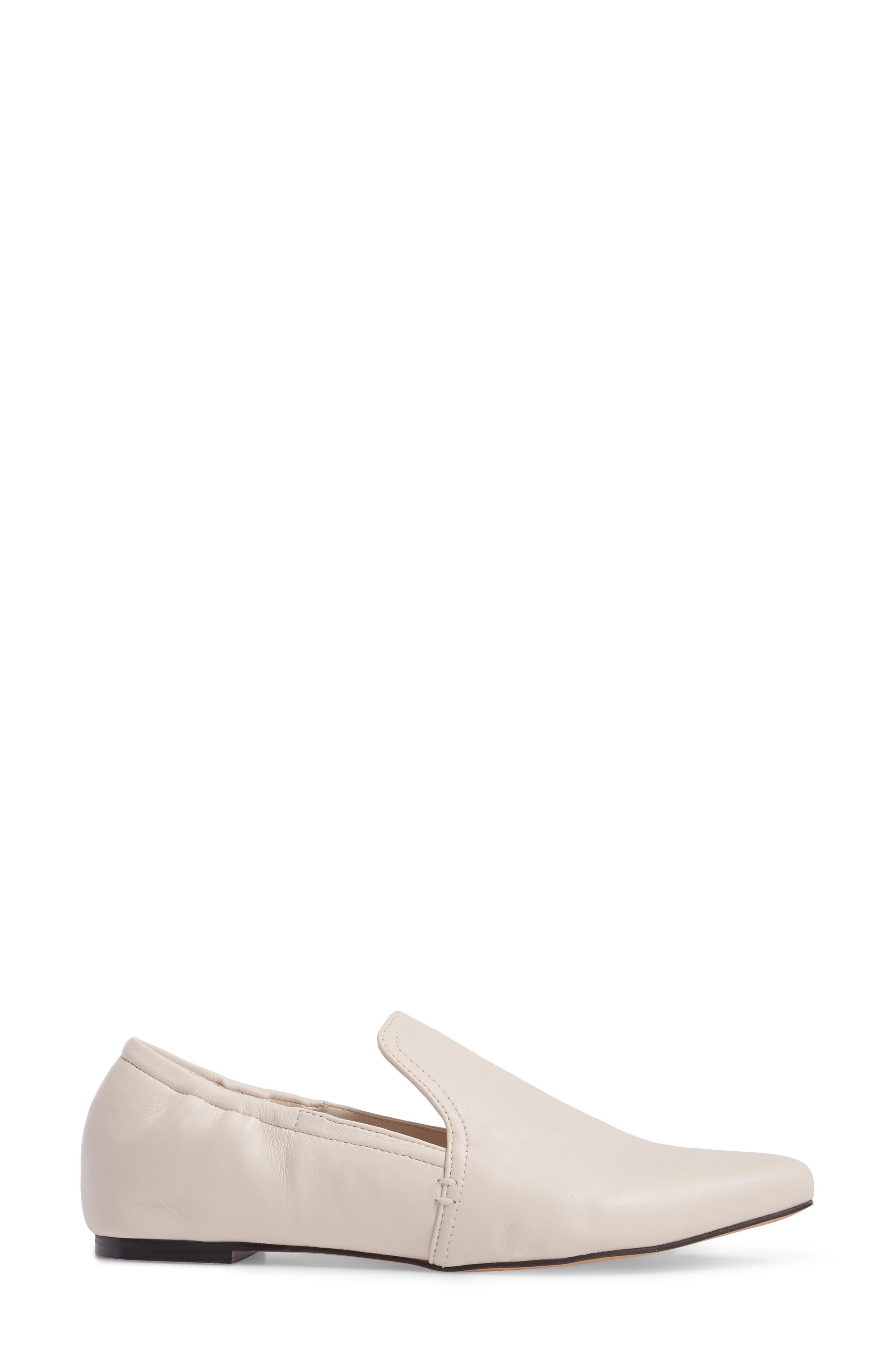 Hamond Loafer,                             Alternate thumbnail 3, color,                             Ivory Leather