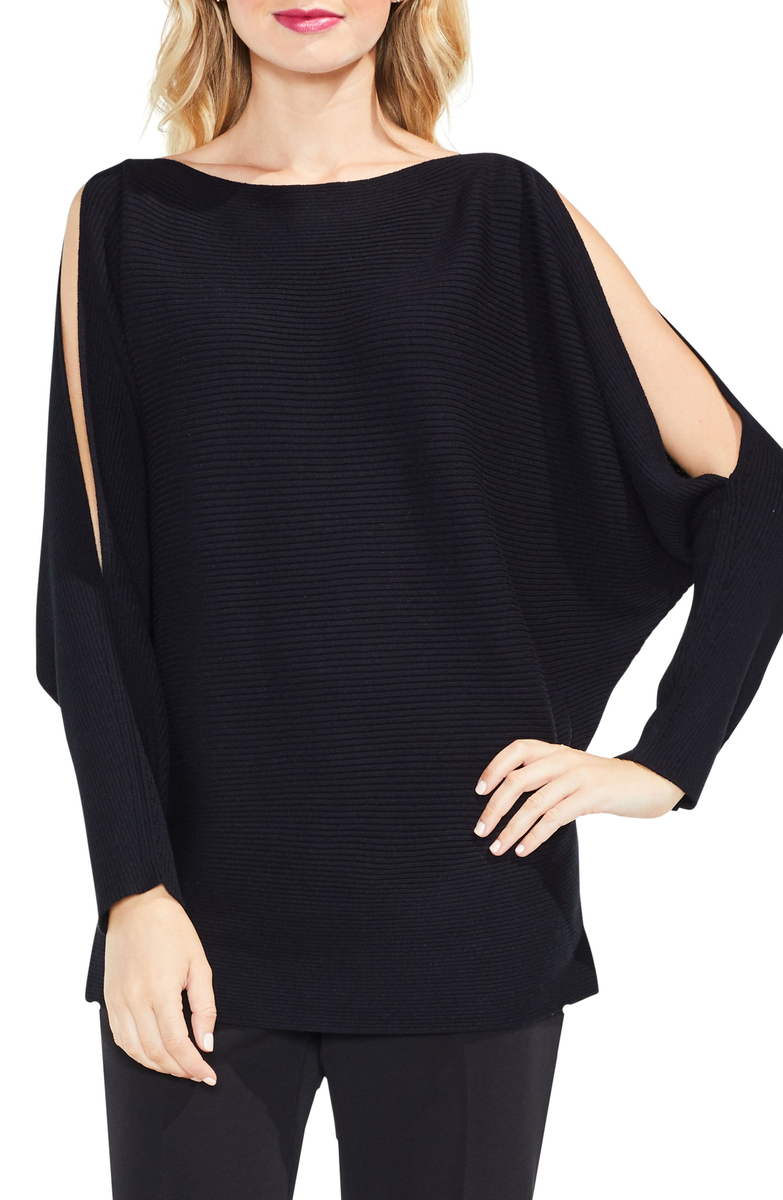 Vince Camuto Split Sleeve Sweater