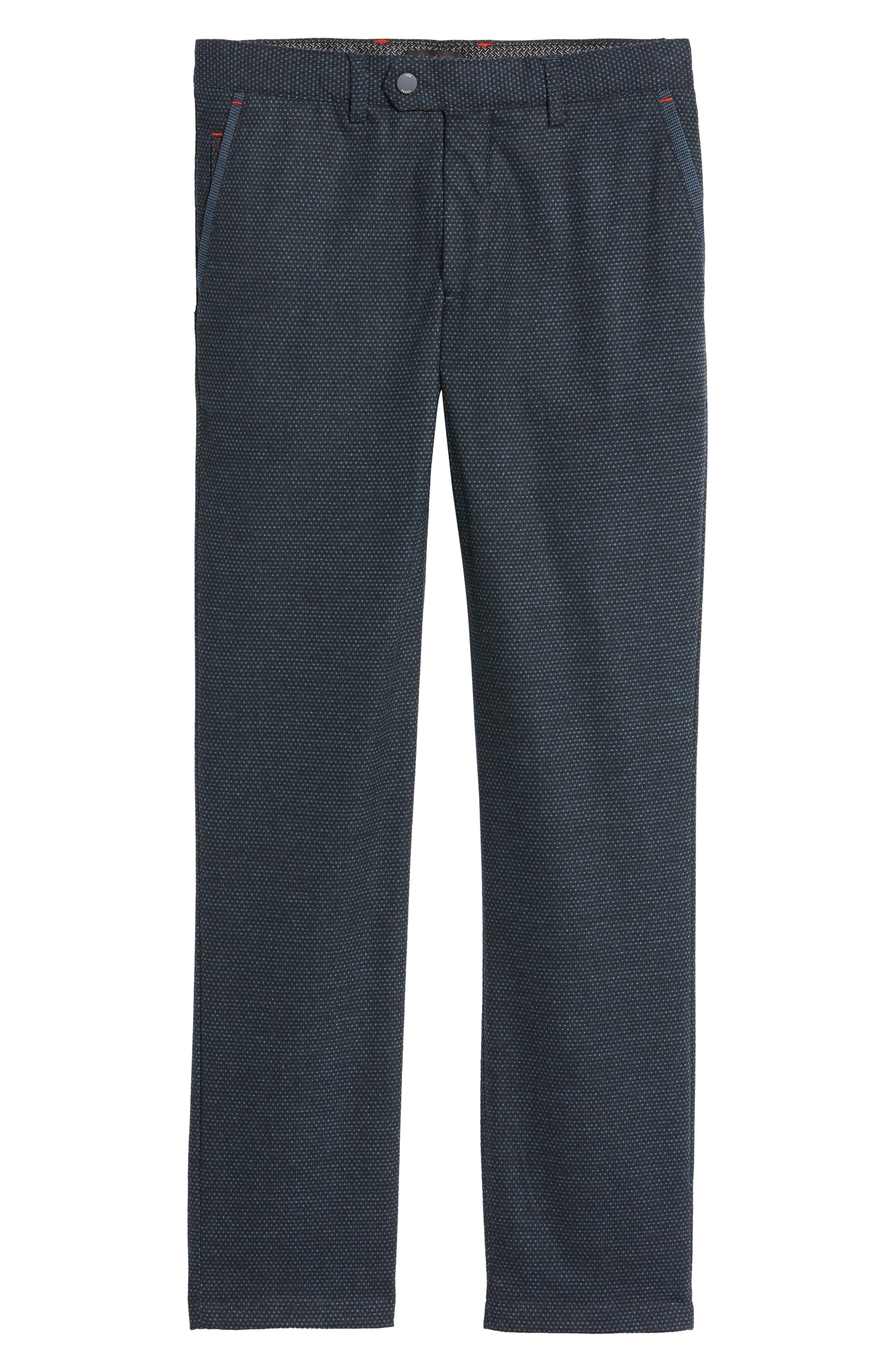 Water Resistant Golf Trousers,                             Alternate thumbnail 5, color,                             Navy