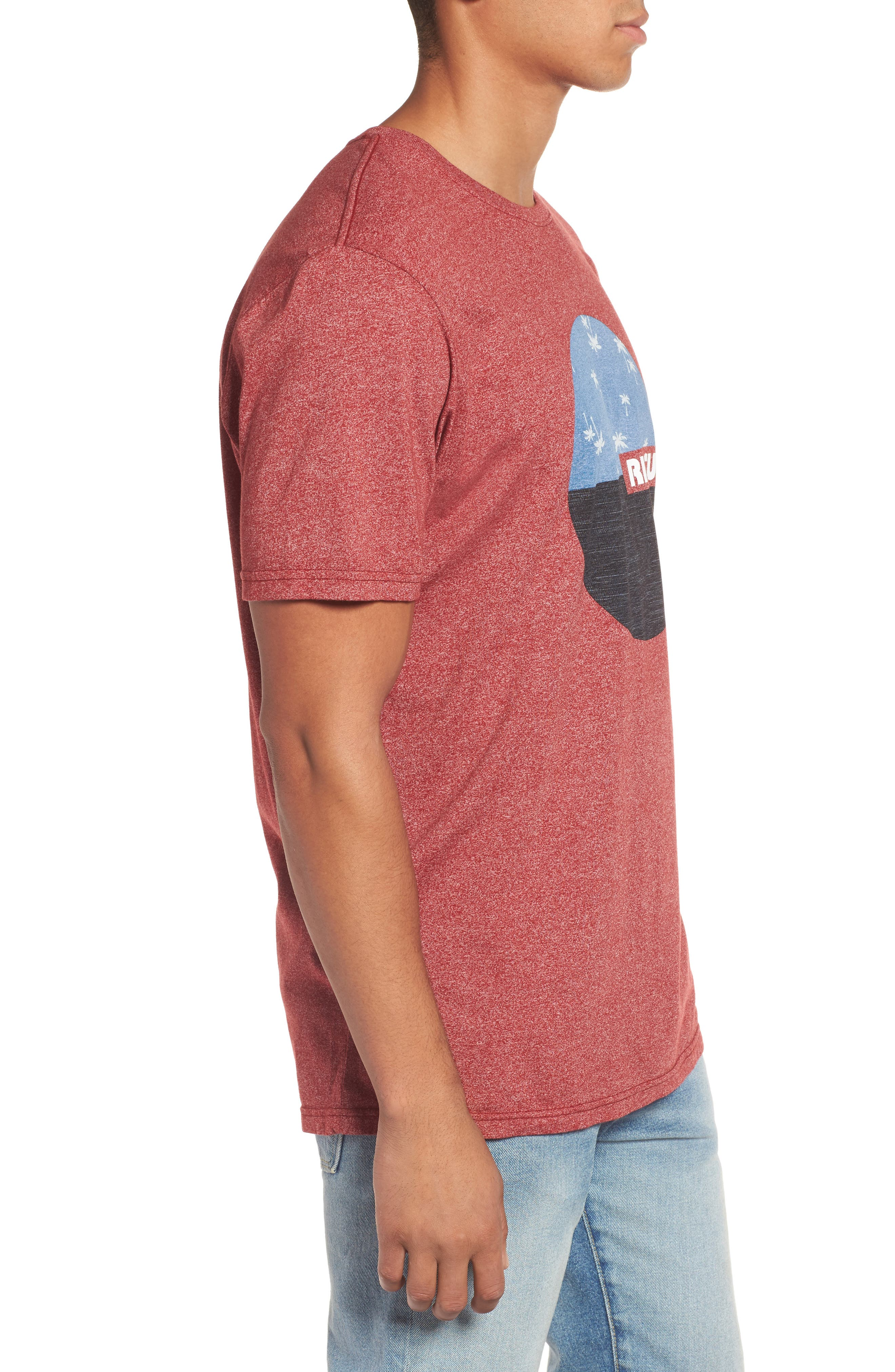 Floater Graphic T-Shirt,                             Alternate thumbnail 4, color,                             Red