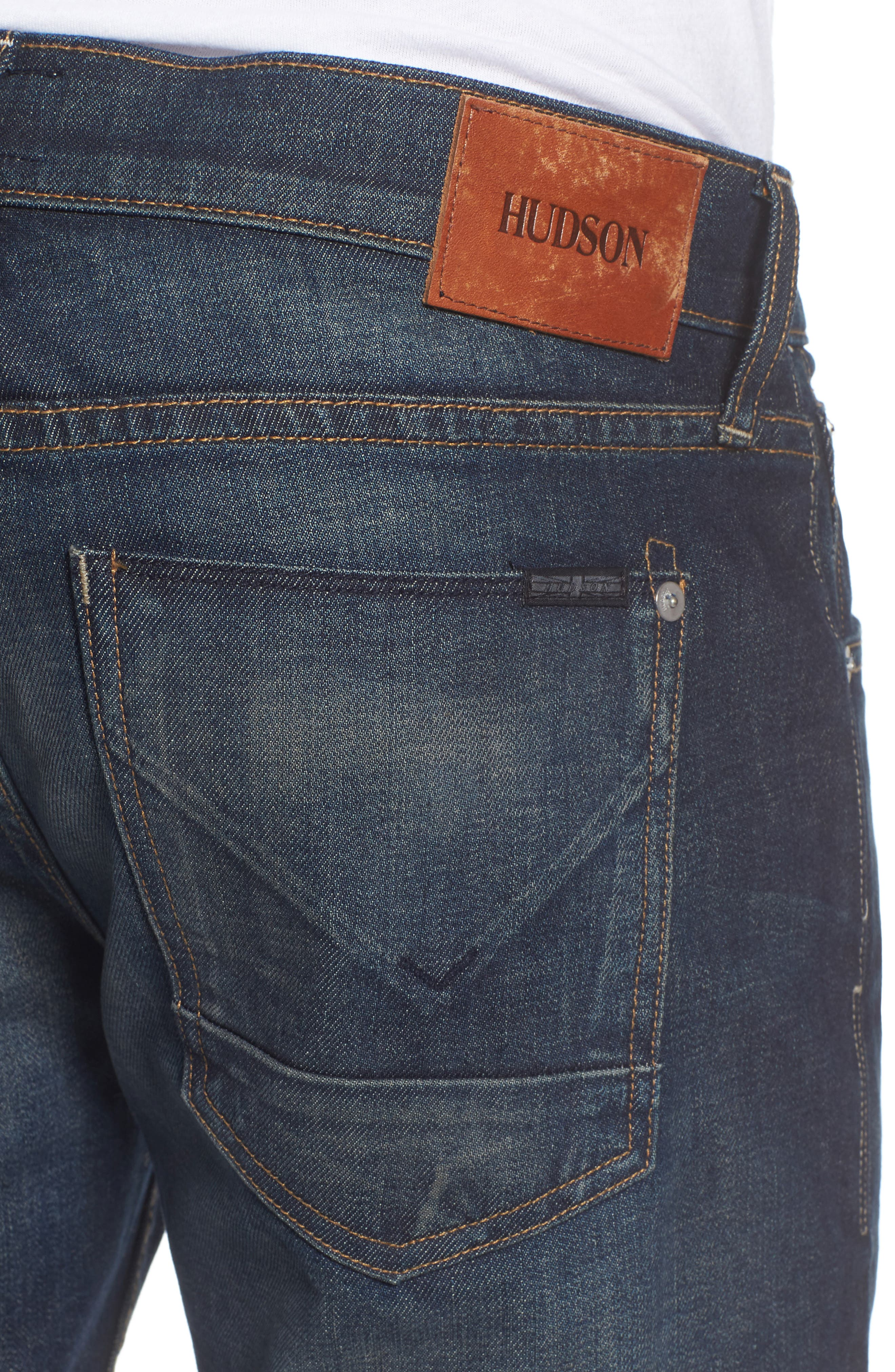 Alternate Image 4  - Hudson Jeans Blake Slim Fit Jeans (Crusher)