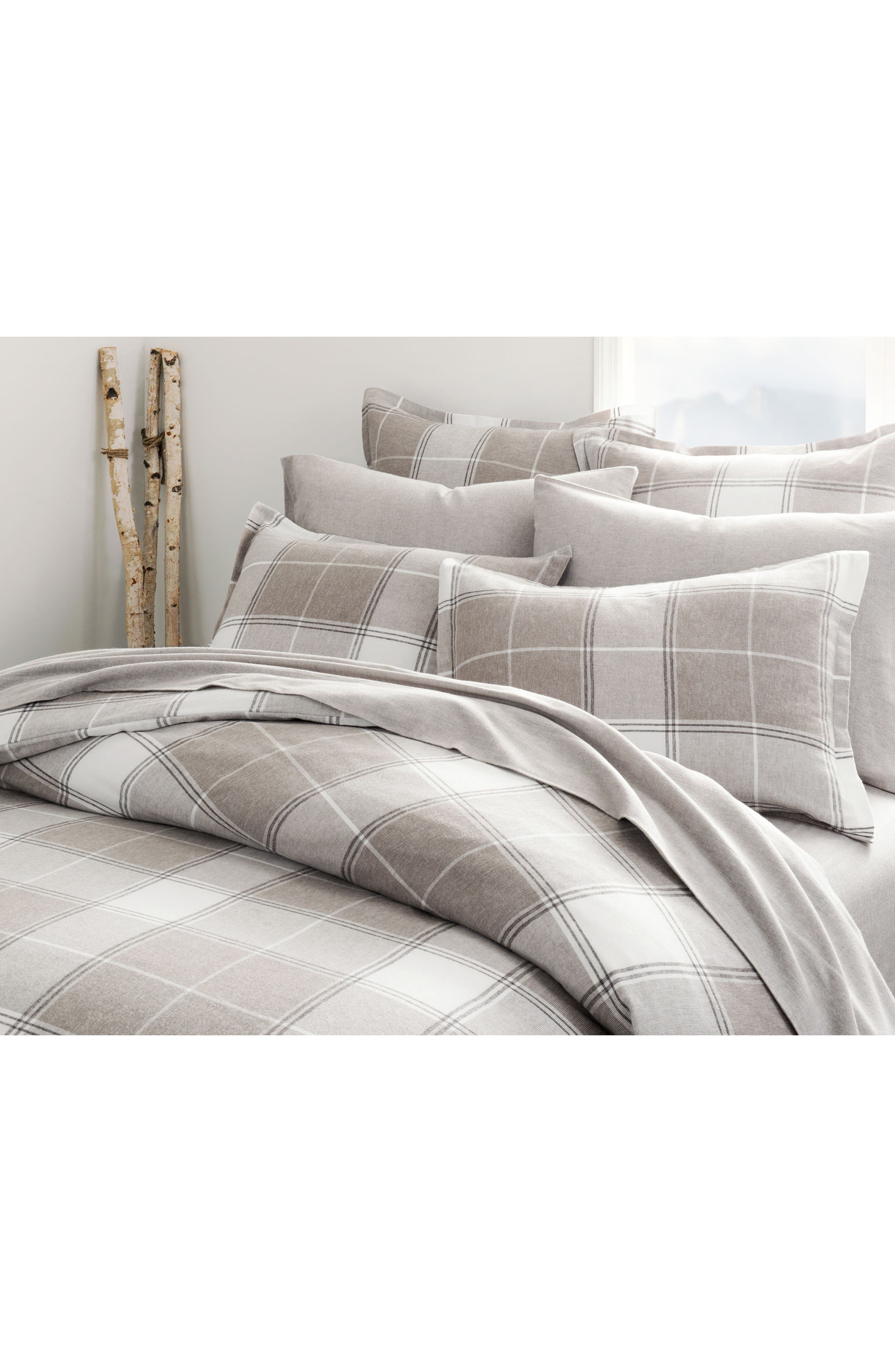 Main Image - UGG® Flannel Luxe Duvet Cover