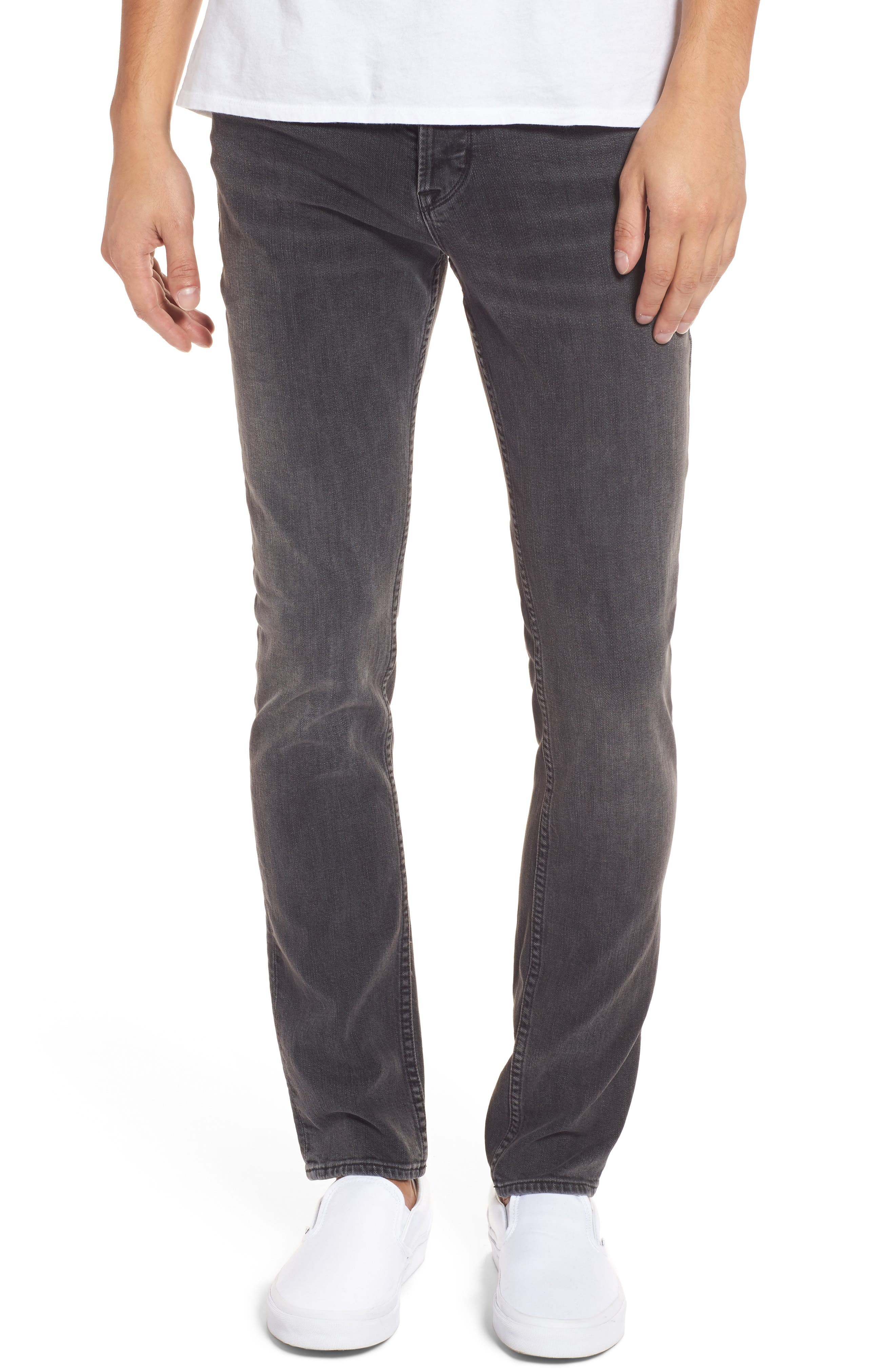 Alternate Image 1 Selected - Hudson Jeans Axl Skinny Fit Jeans (Oxidize)