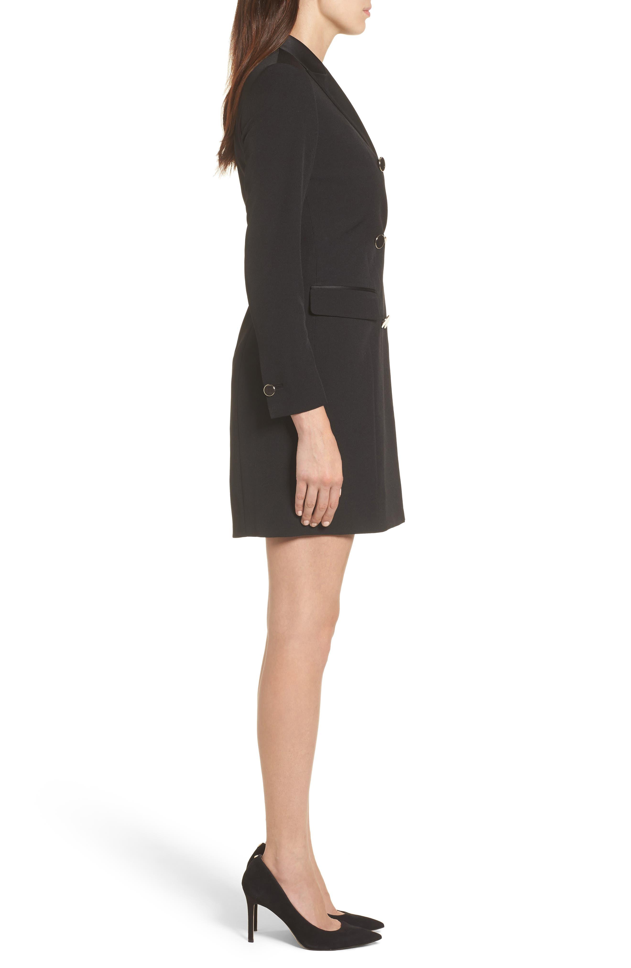 Alternate Image 3  - Anne Klein Tuxedo Dress