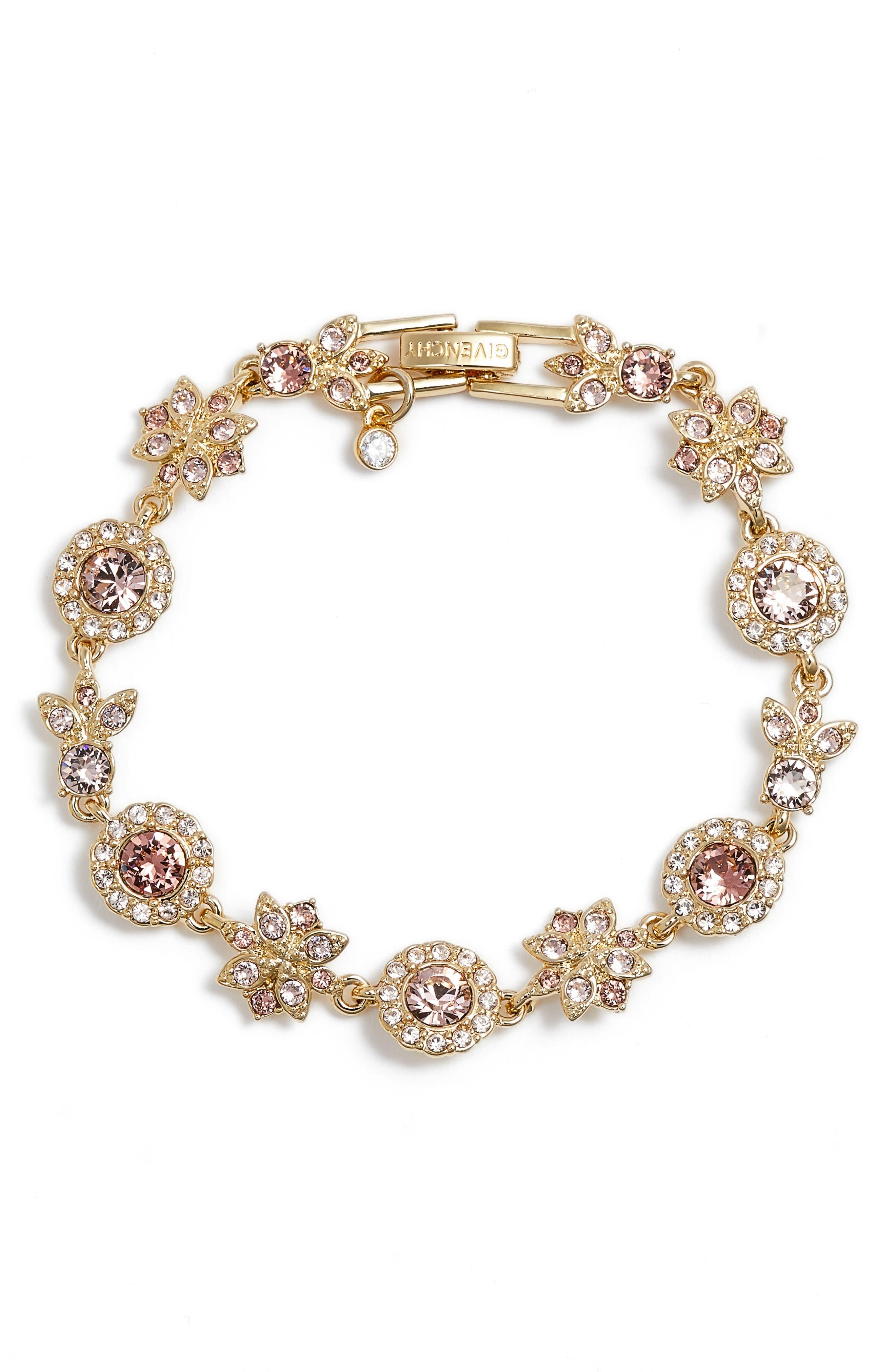 Givenchy Crystal Linear Bracelet