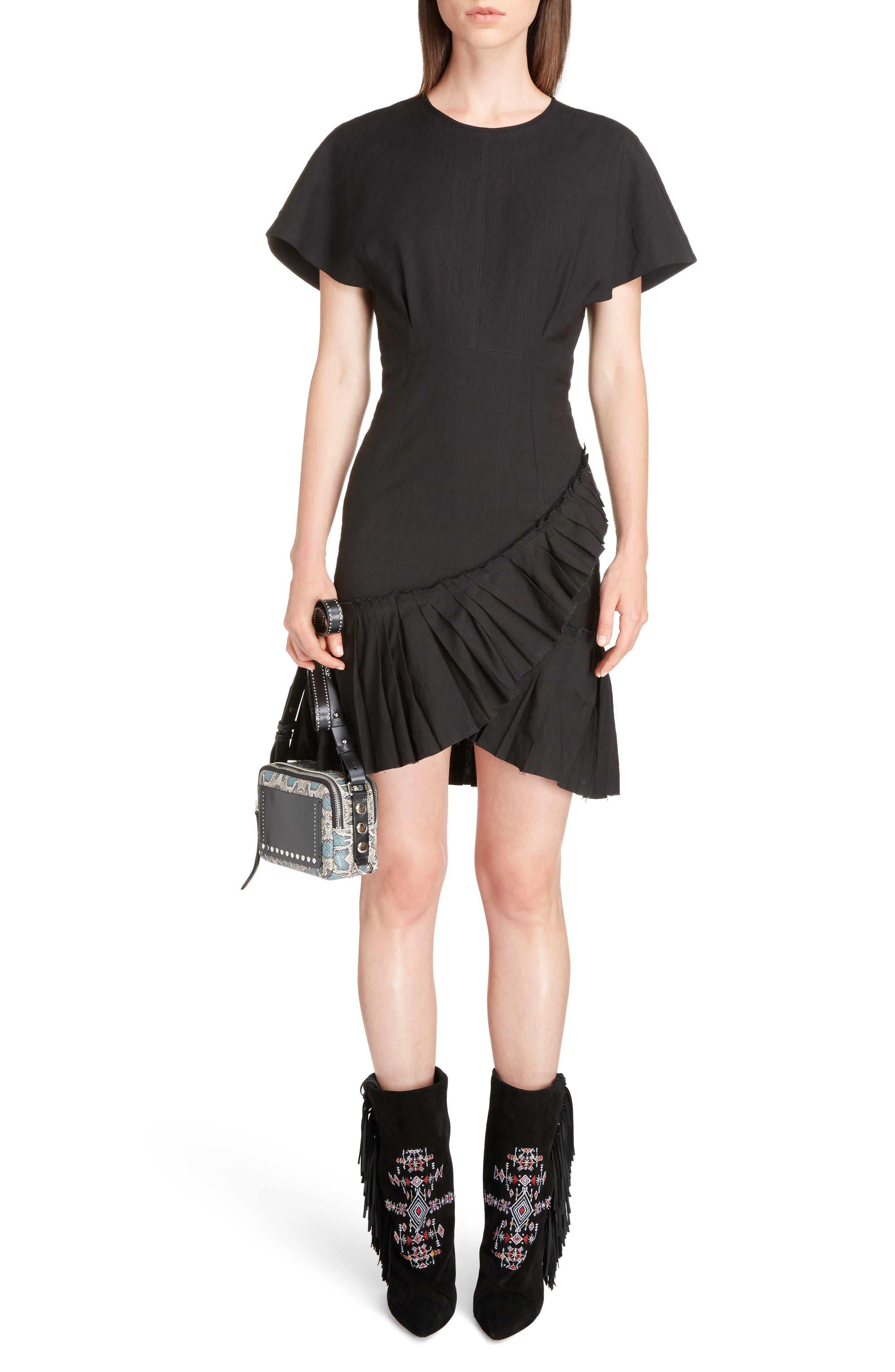 Main Image - Isabel Marant Rimba Ruffle Hem Dress