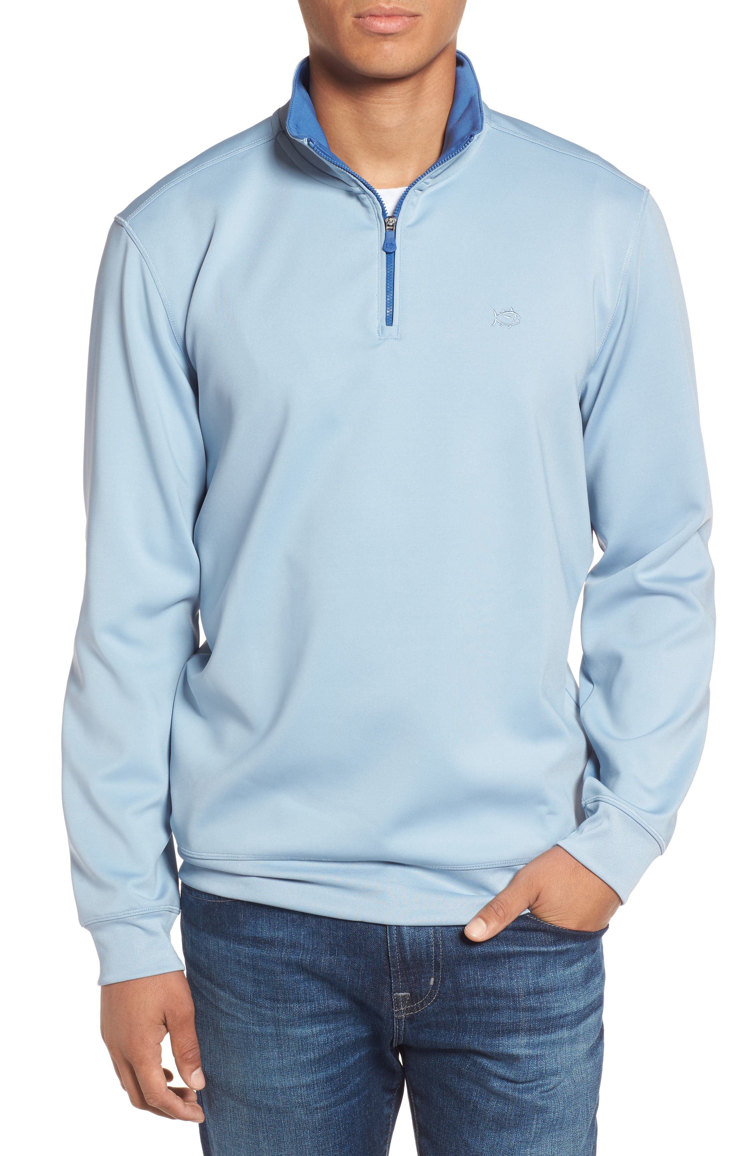 Alternate Image 1 Selected - Southern Tide 19th Hole Quarter Zip Pullover