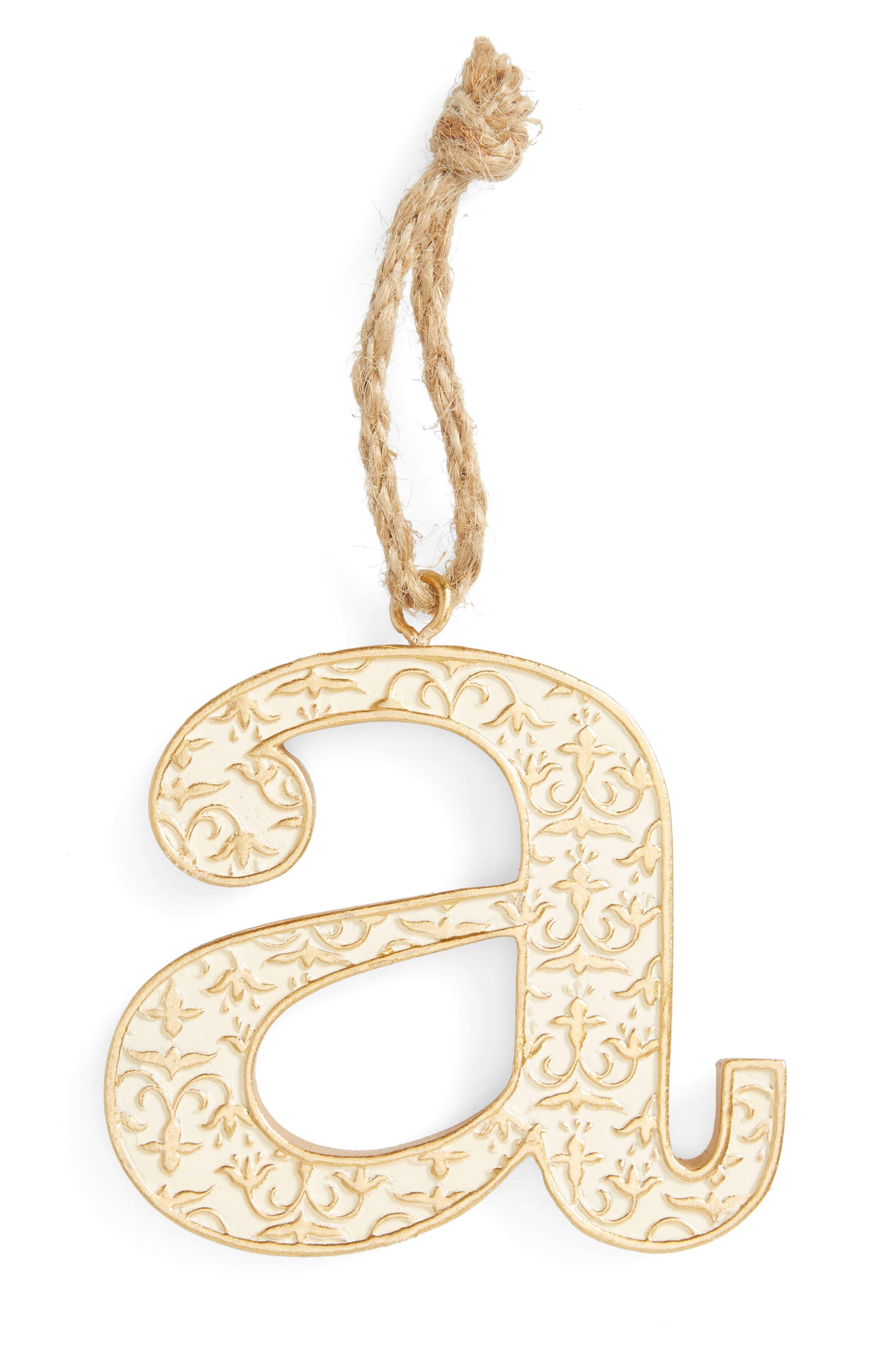 Levtex Letter Ornament
