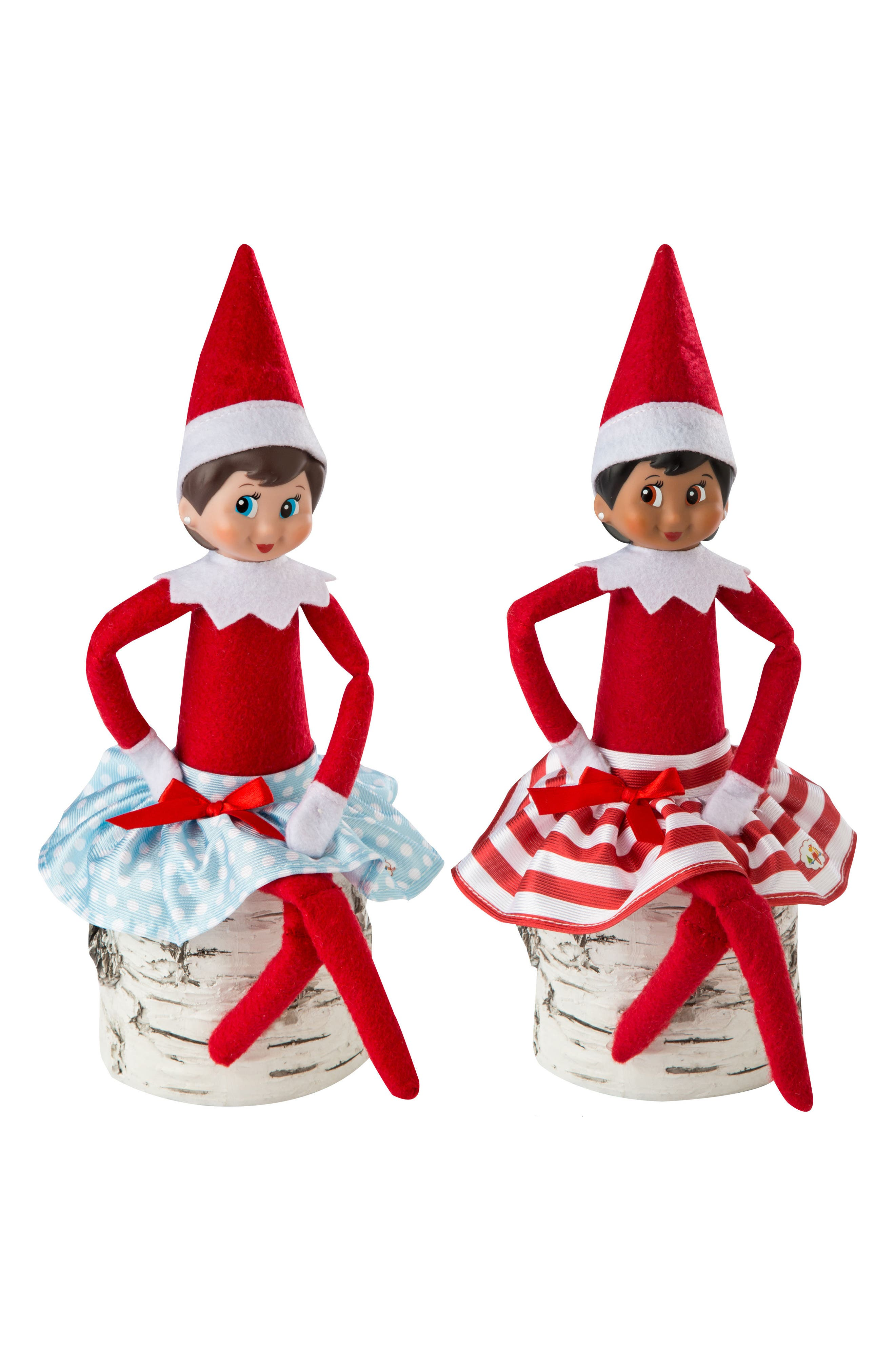 Elf on the Shelf Claus Couture Collection - Twirling in the Snow 2-Pack Skirts