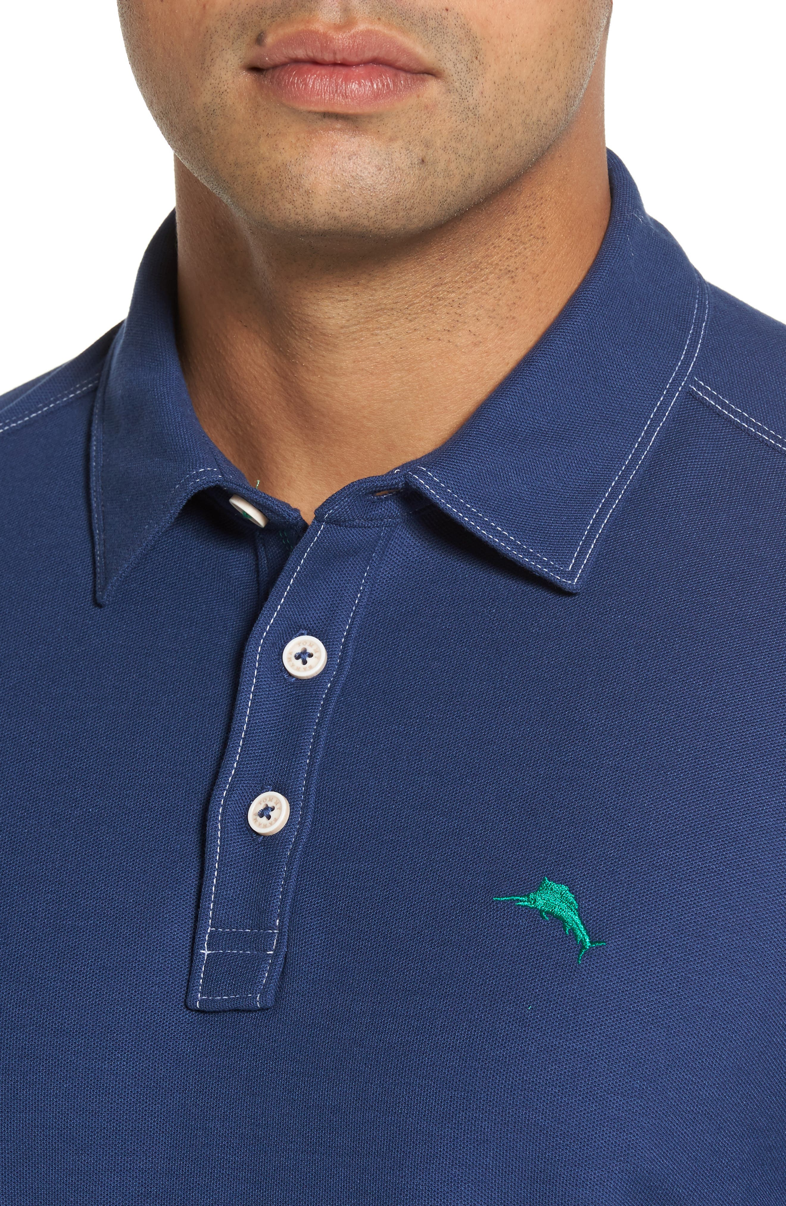 Alternate Image 4  - Tommy Bahama Tropicool Spectator Piqué Polo