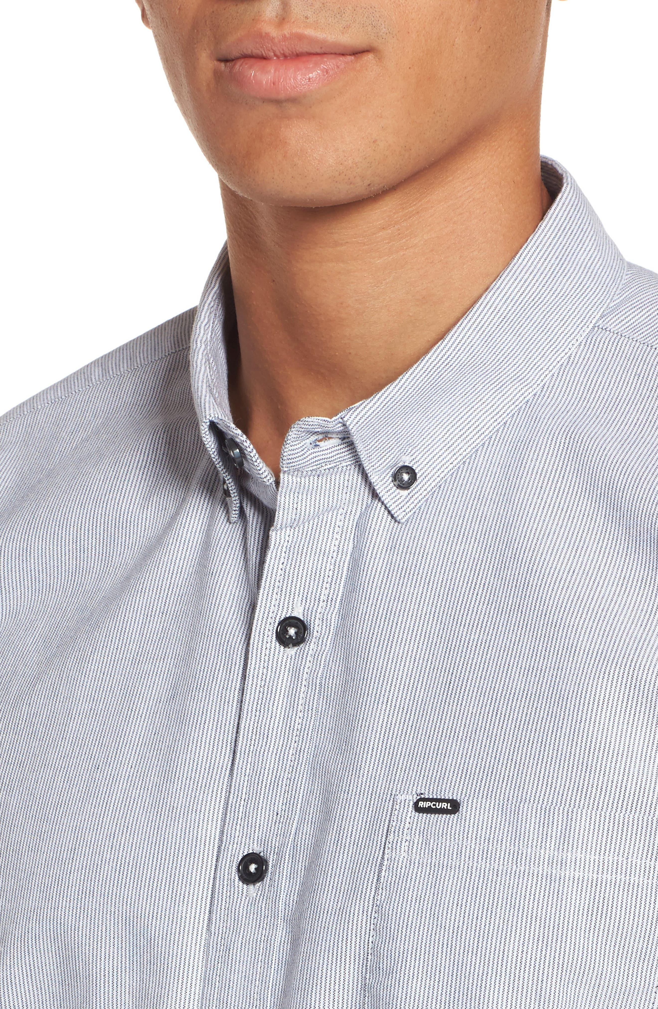 Alternate Image 4  - Rip Curl Ourtime Woven Shirt