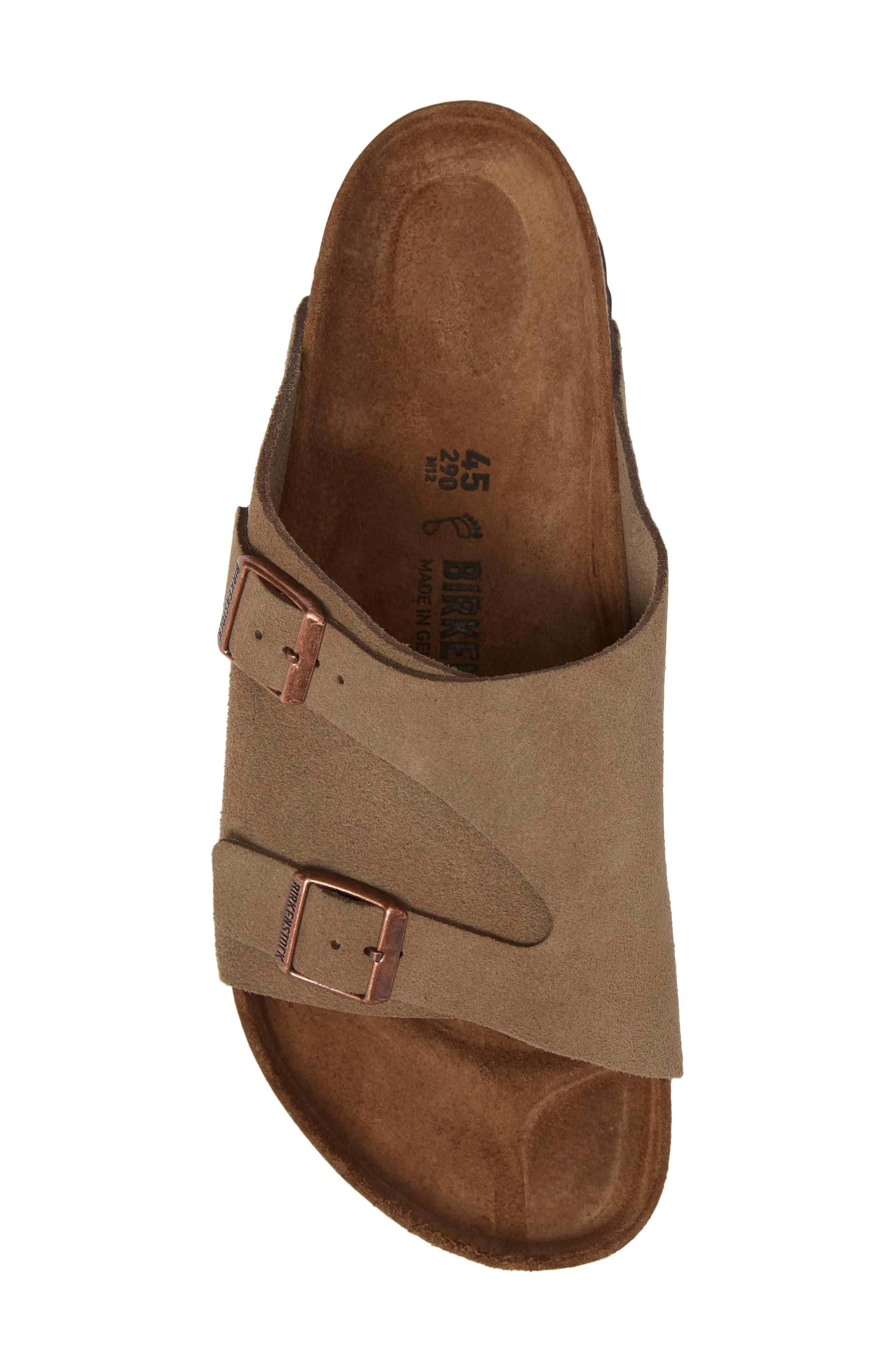 Alternate Image 5  - Birkenstock Zurich Slide Sandal (Men)