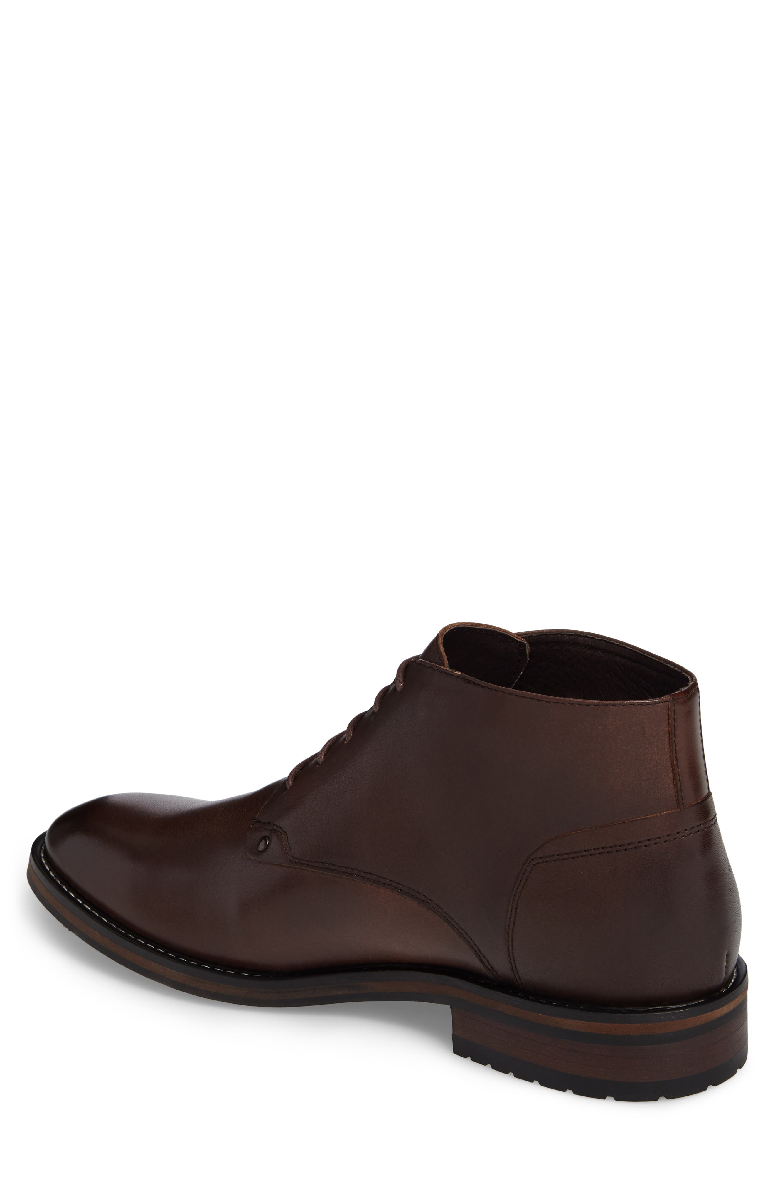Malta Low Boot,                             Alternate thumbnail 2, color,                             Brown Leather