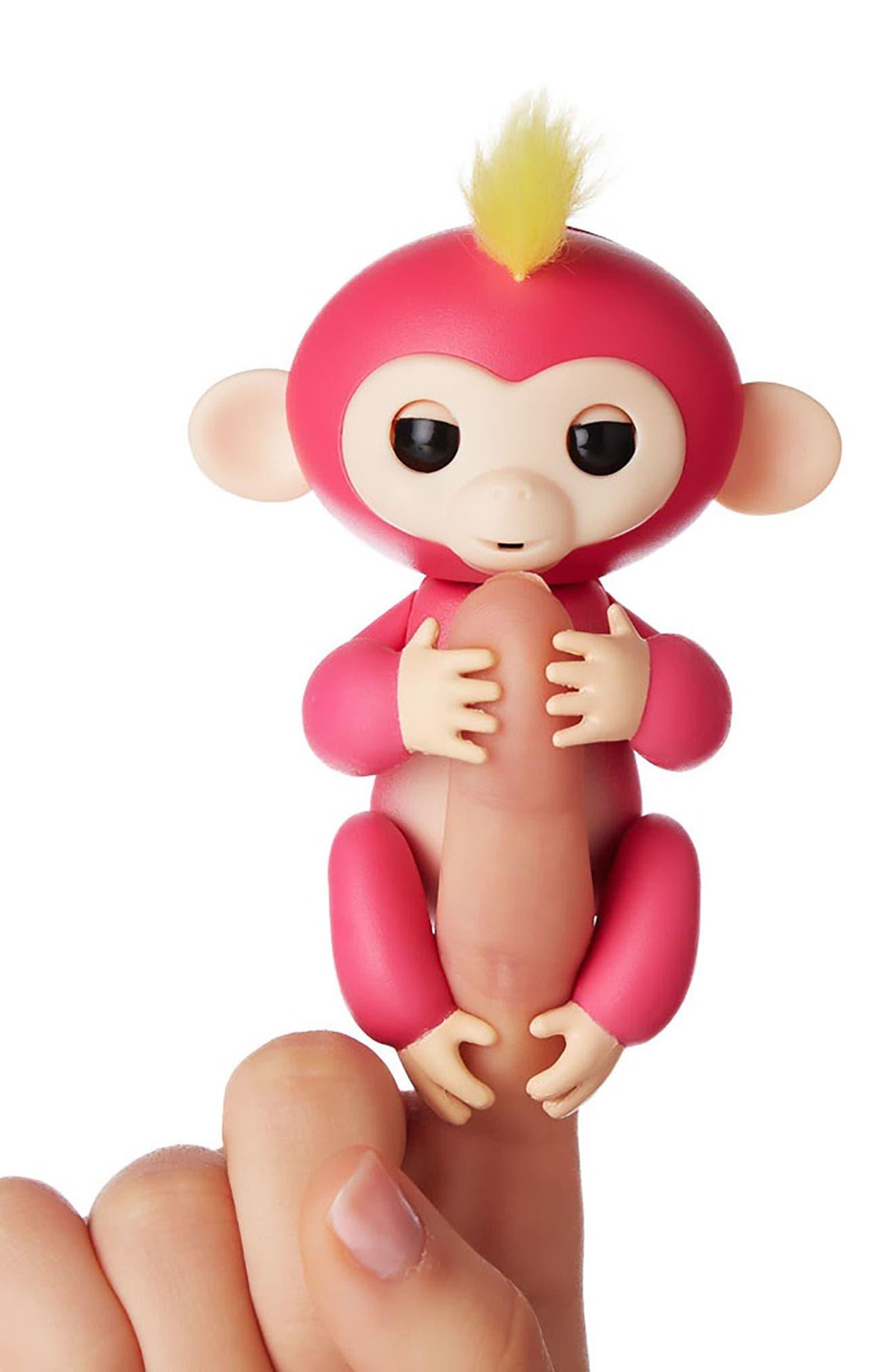Monkey Fingerling Toy,                             Alternate thumbnail 2, color,                             Pink Bella