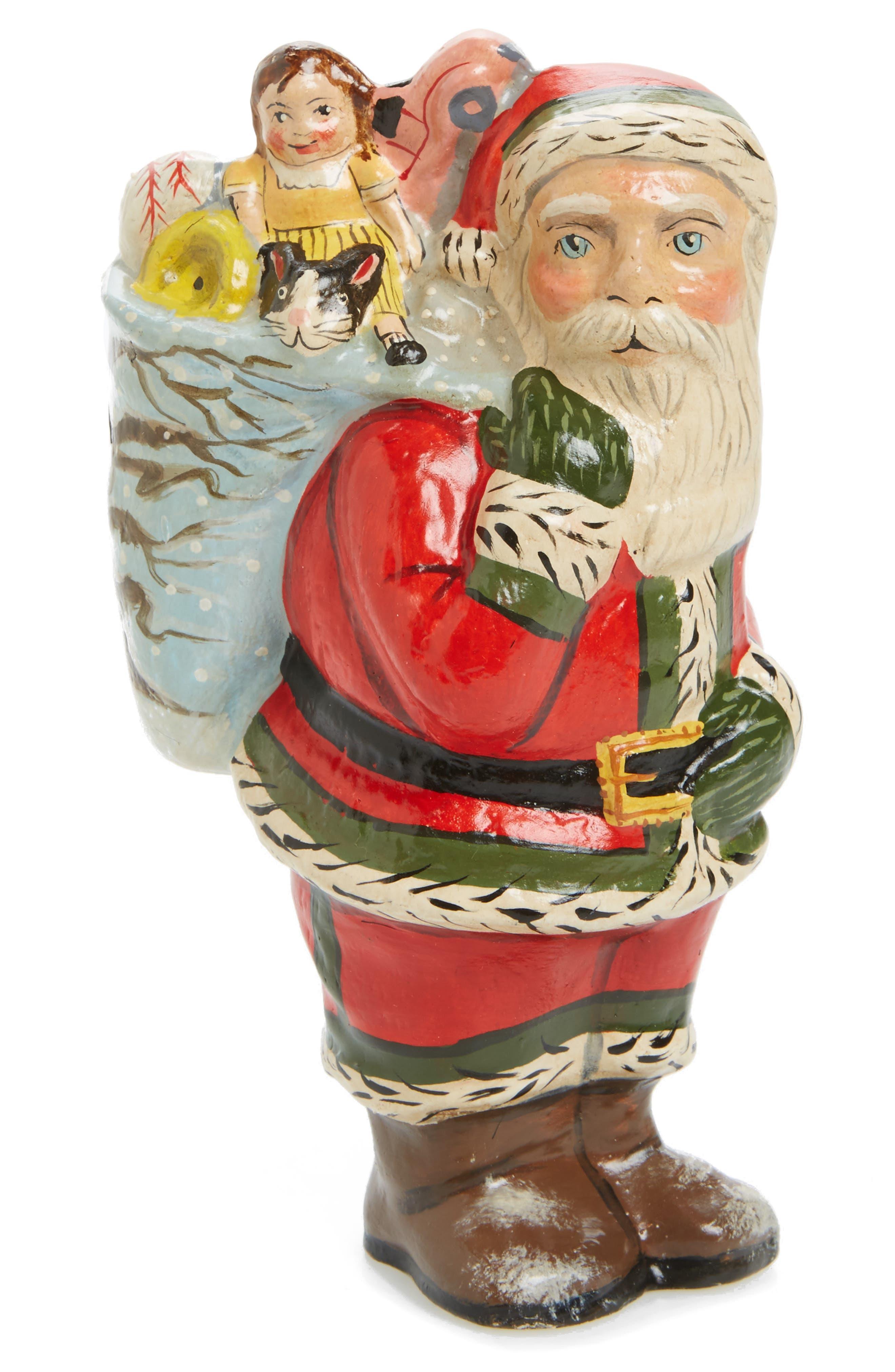 Santa Figurine,                             Main thumbnail 1, color,                             Red