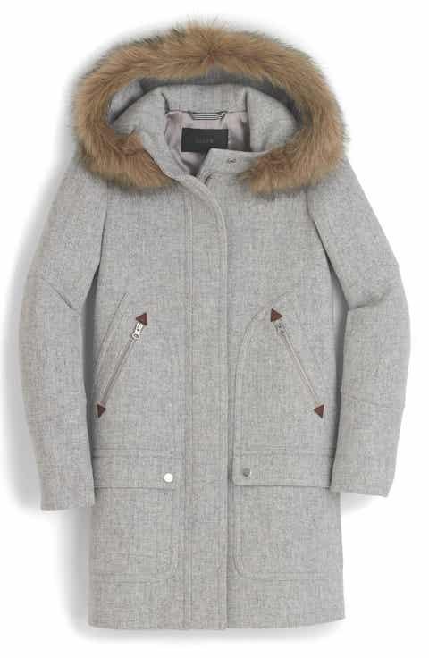 Women's Grey Wool & Wool-Blend Coats | Nordstrom