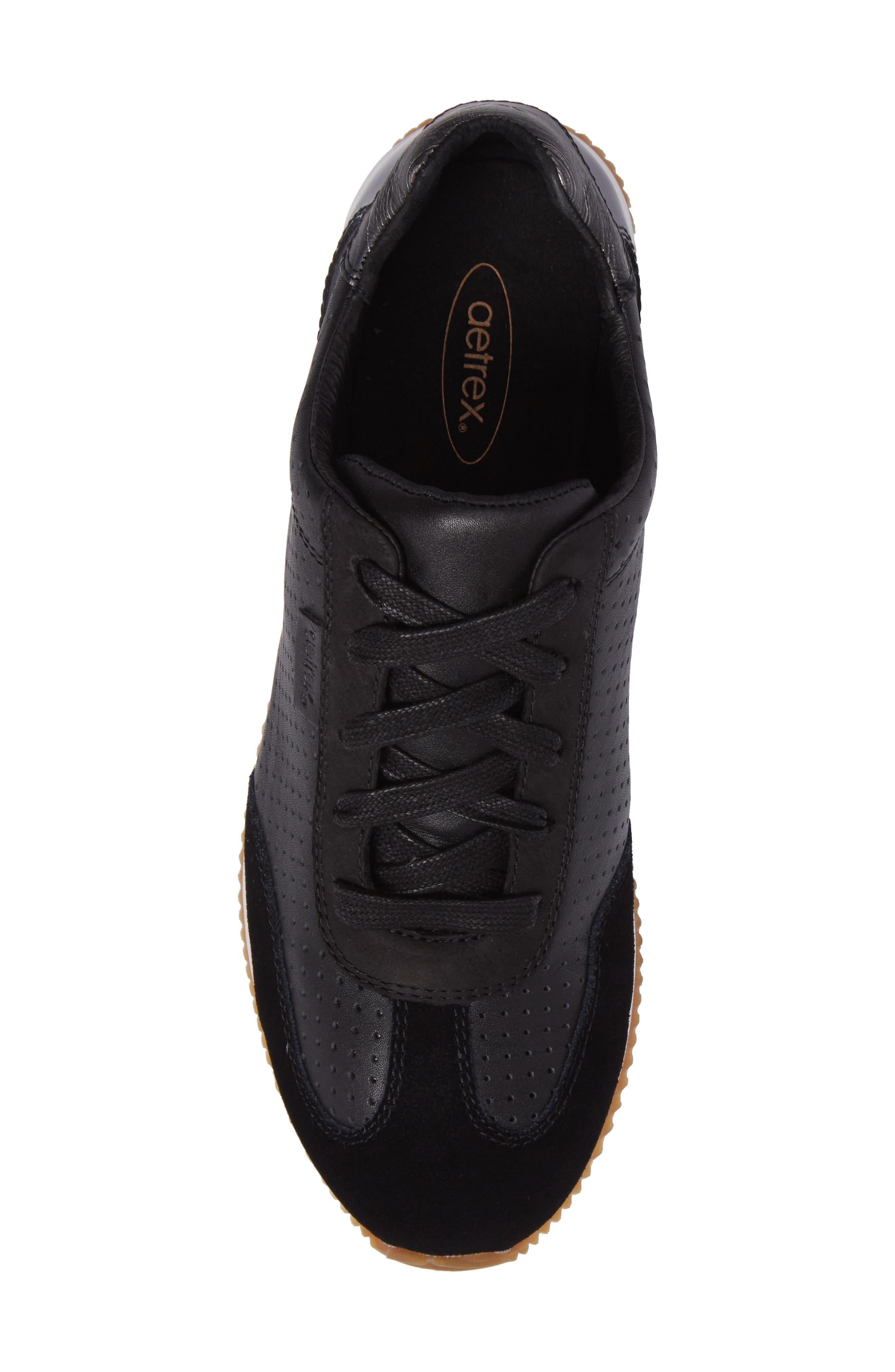 Alternate Image 5  - Aetrex Nadia Sneaker (Women)