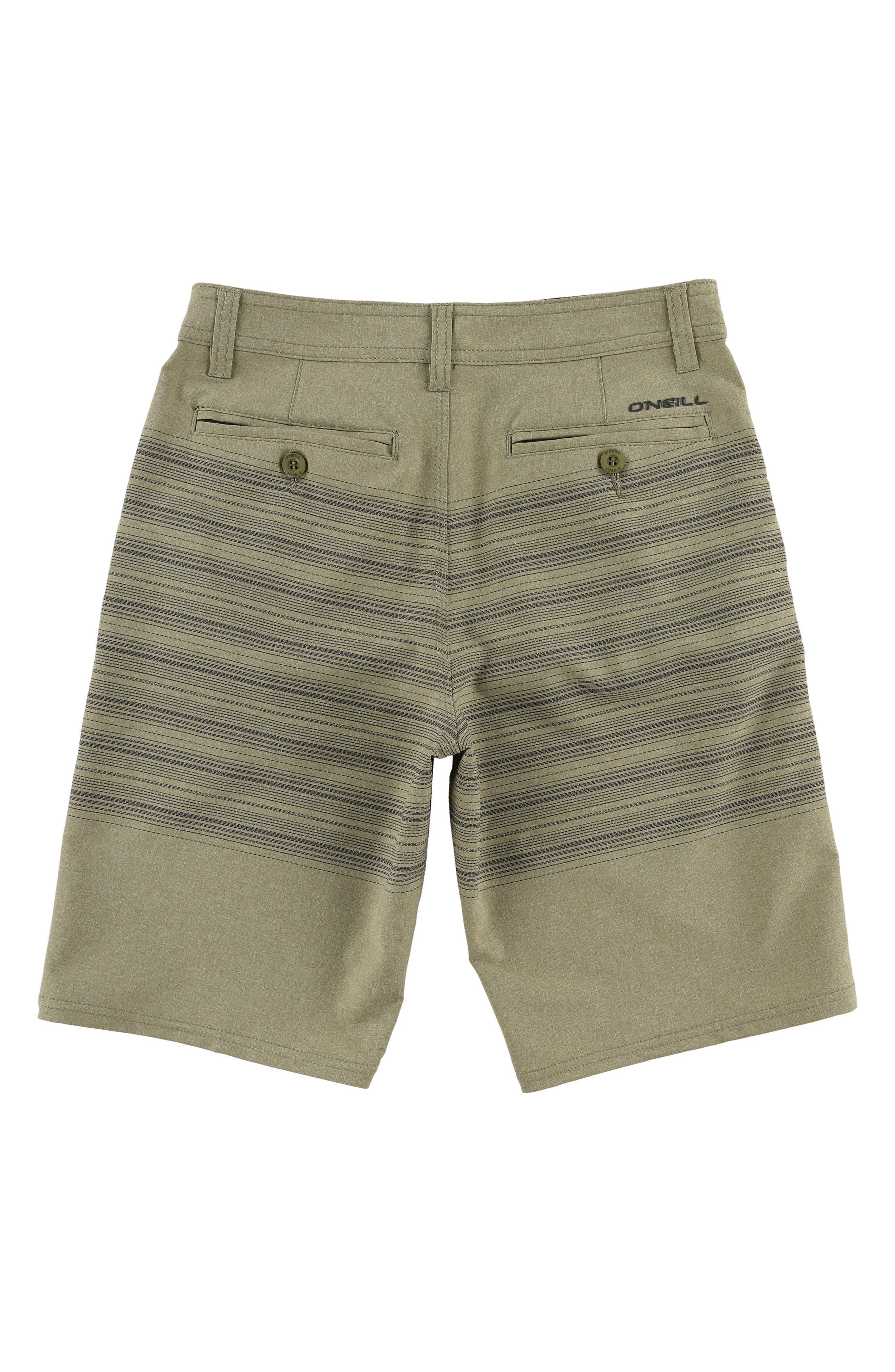 Loaded Schematic Hybrid Board Shorts,                             Alternate thumbnail 2, color,                             Khaki