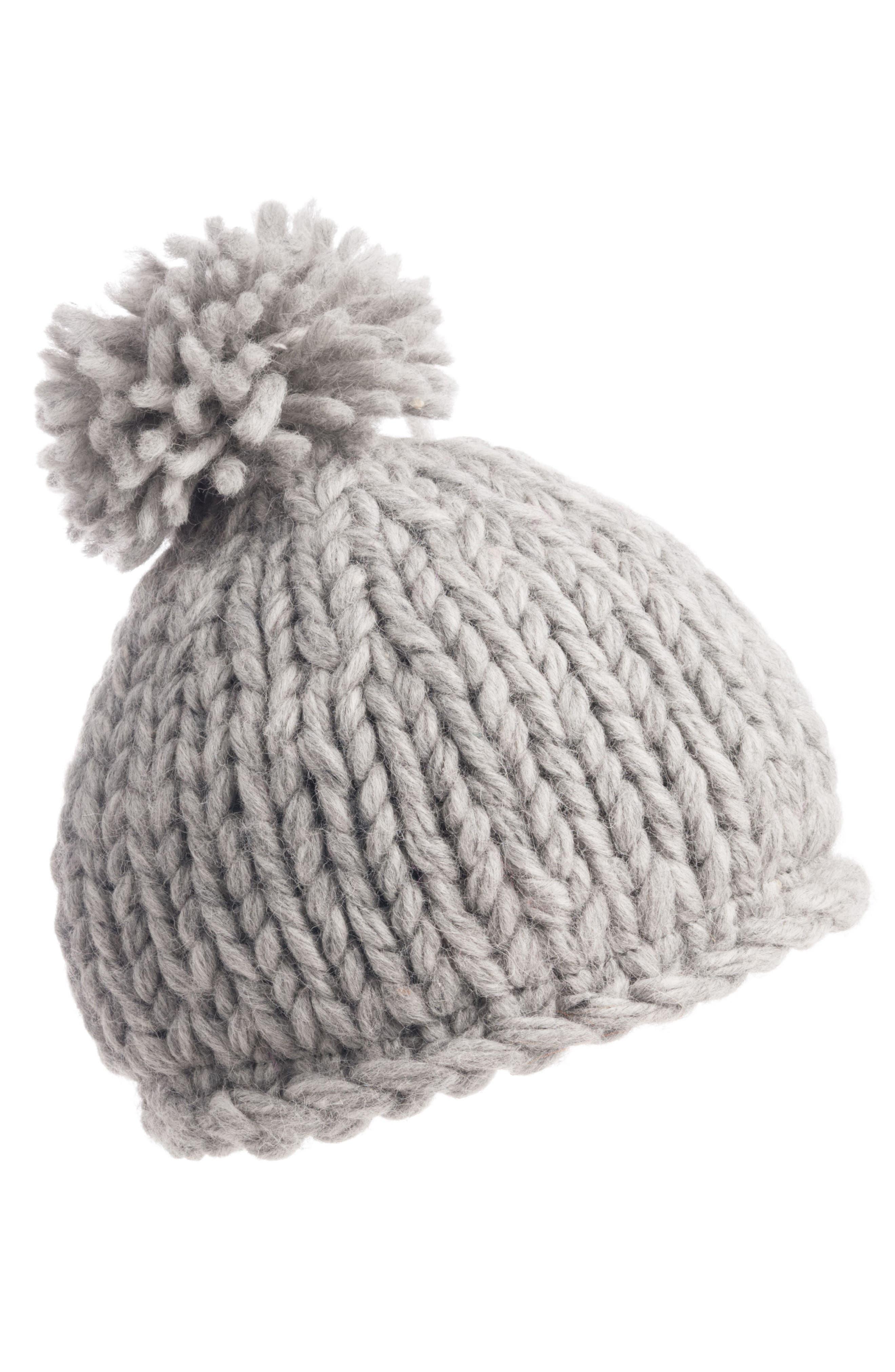 Nivanna Designs Chunky Knit Pompom Beanie