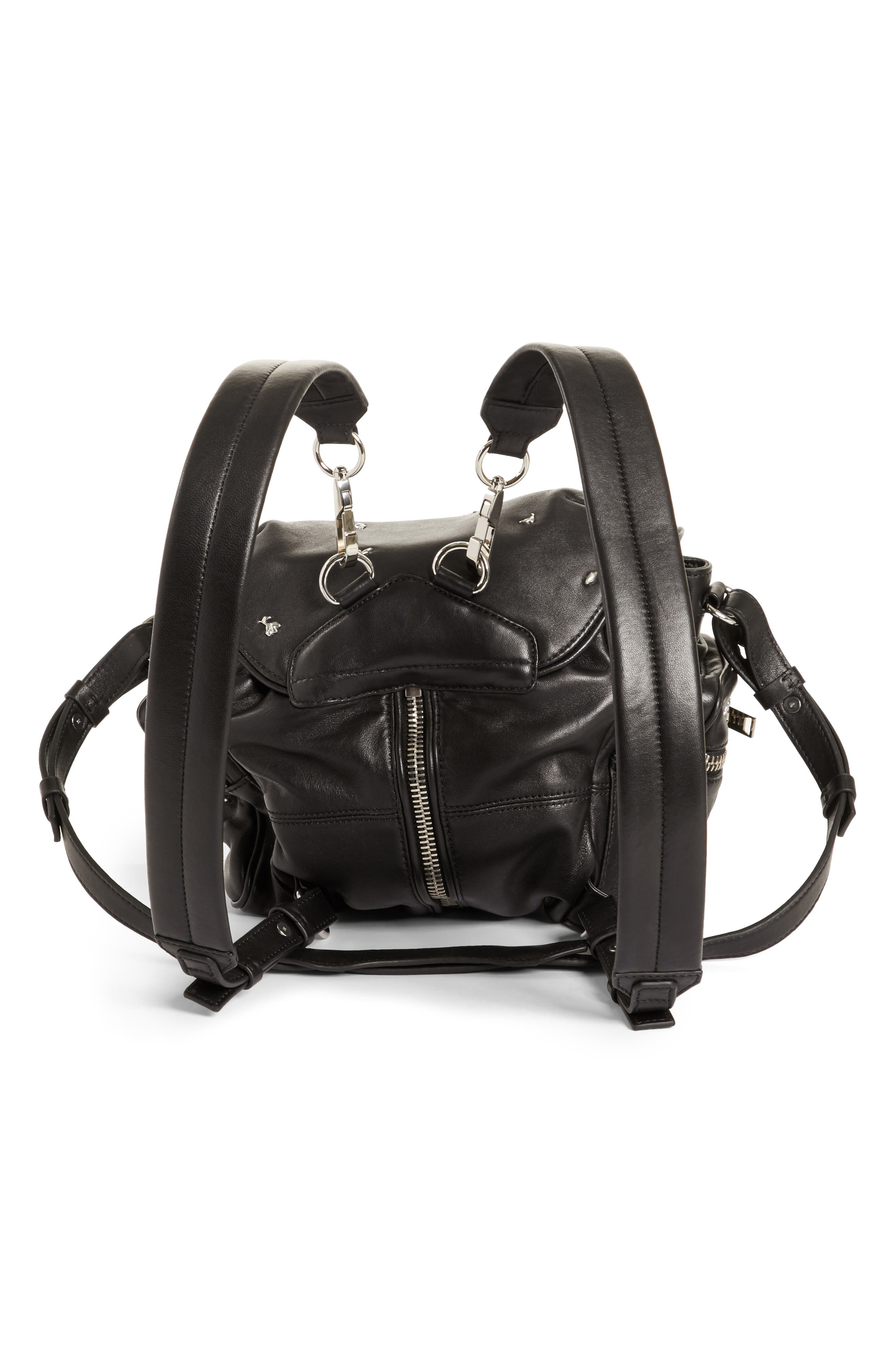 Alternate Image 3  - Alexander Wang Mini Marti Rose Studded Convertible Leather Backpack