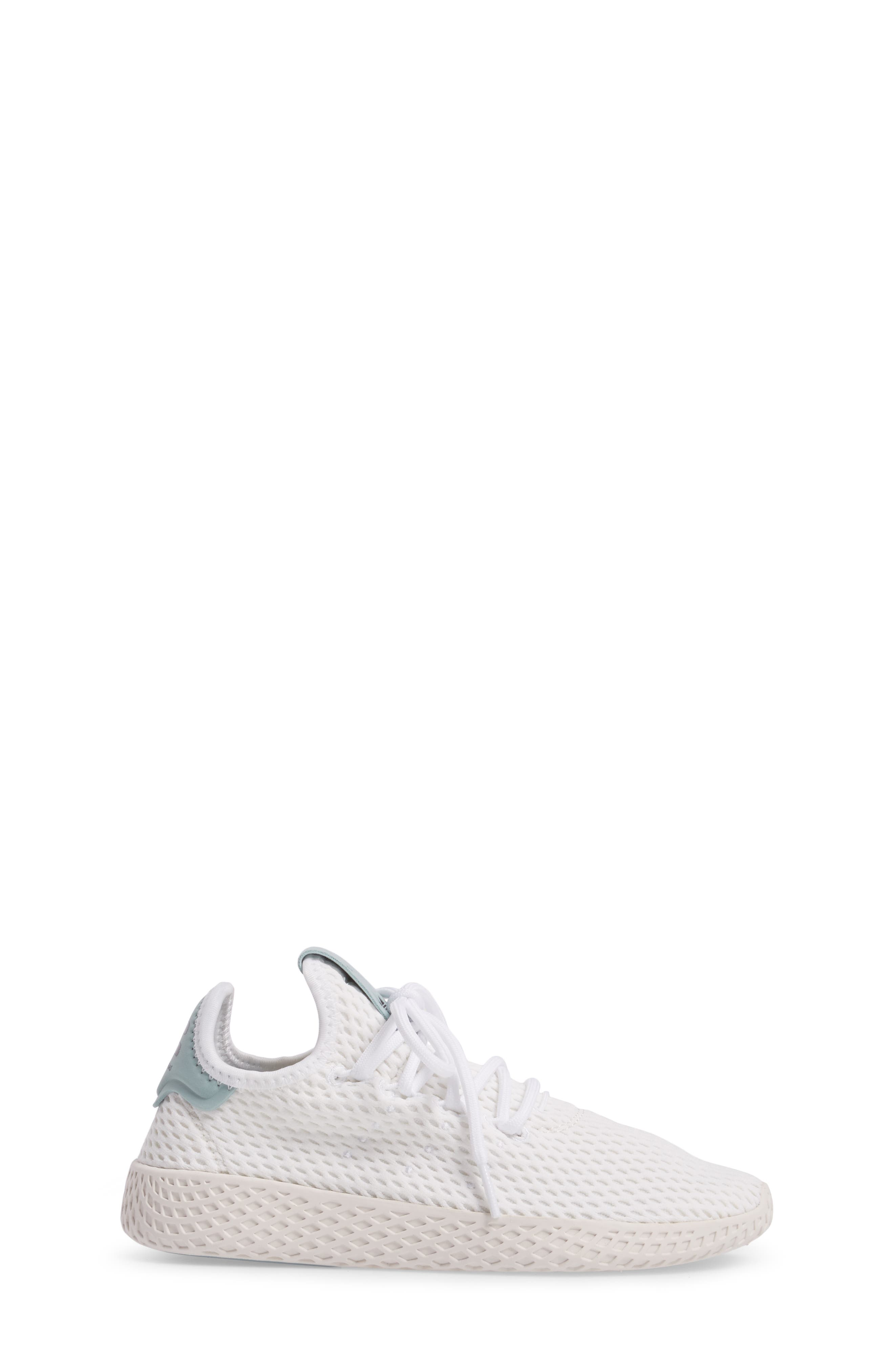 Originals x Pharrell Williams The Summers Mesh Sneaker,                             Alternate thumbnail 3, color,                             Footwear White/ Linen Green