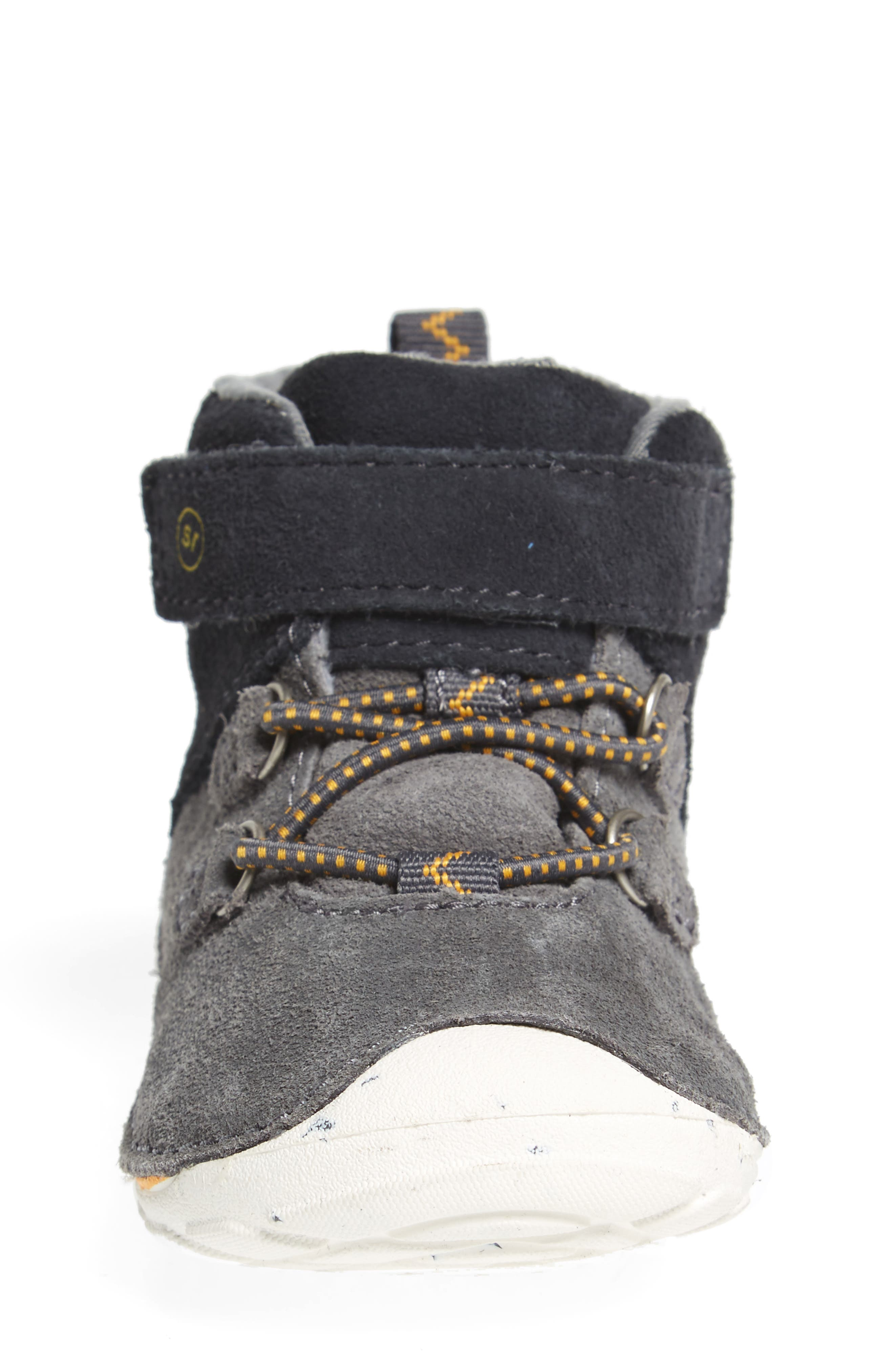 Soft Motion<sup>™</sup> Oliver High Top Sneaker,                             Alternate thumbnail 4, color,                             Grey Suede
