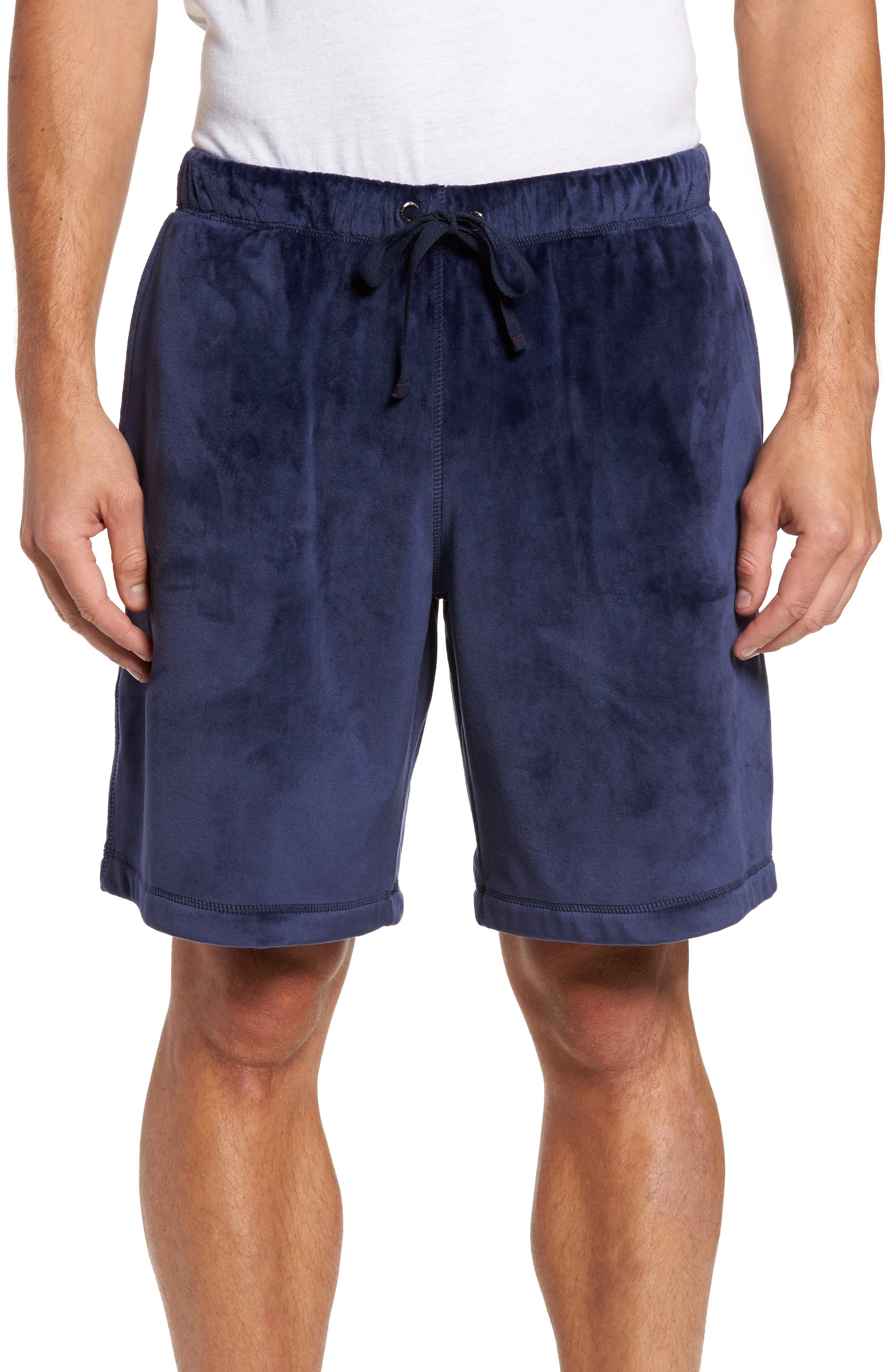 Daniel Buchler Stretch Velvet Lounge Shorts