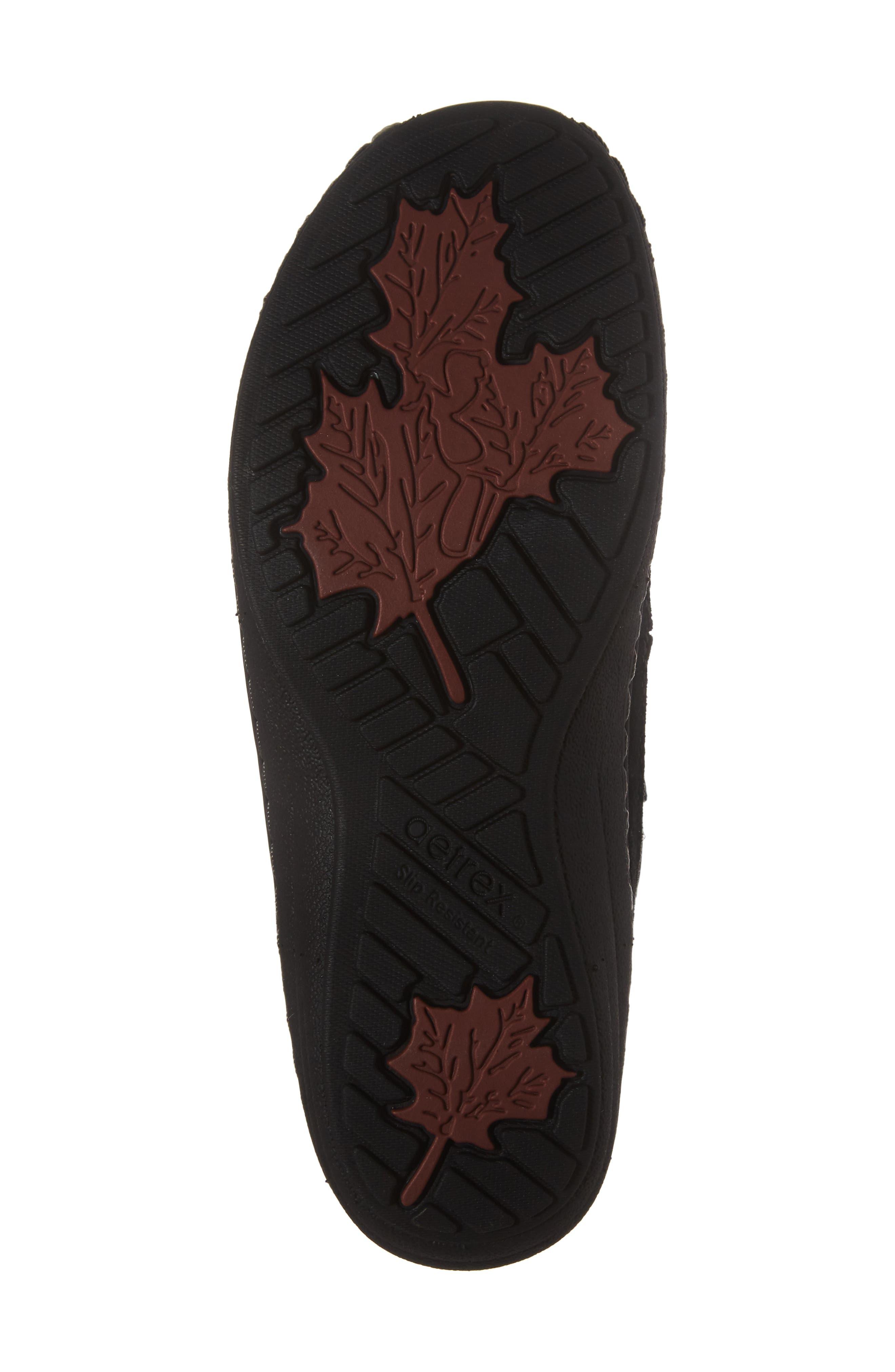 Berries Water Resistant Boot,                             Alternate thumbnail 6, color,                             Blackberry Suede
